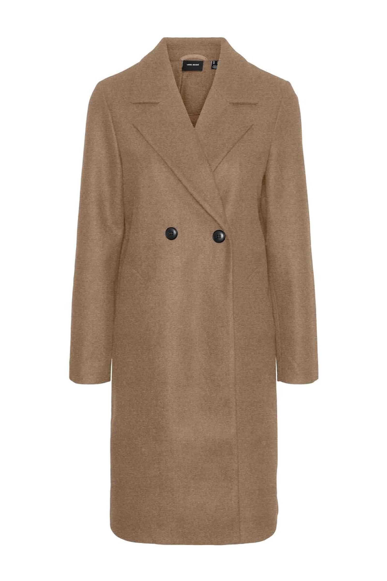 Cappotto Donna VERO MODA   Cappotto   10248236Tobacco Brown