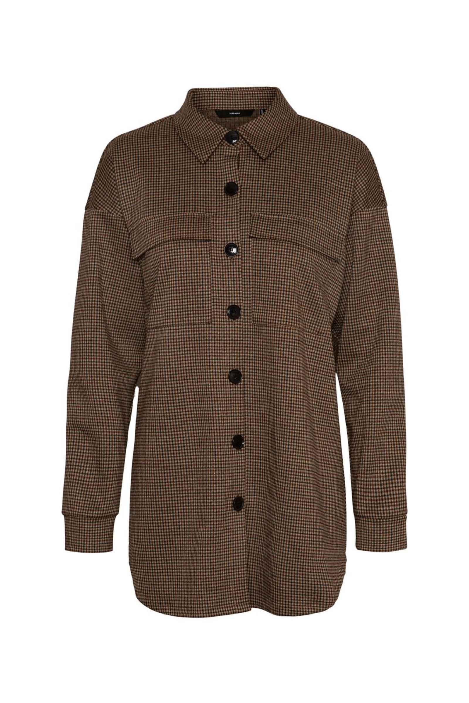 Woman Shirt VERO MODA | Top | 10251888Checks-BLACK