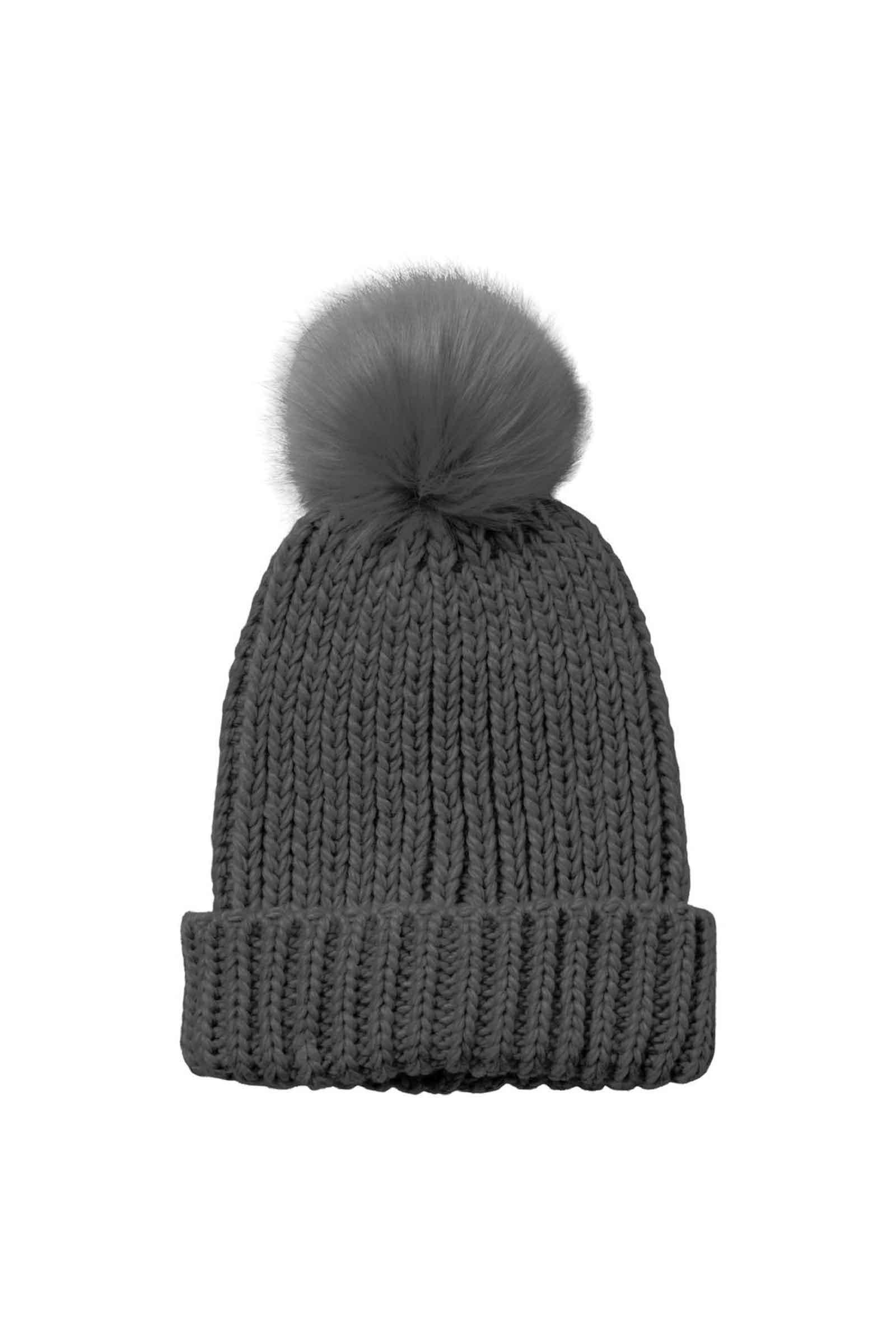 Woman Hat VERO MODA | Hat | 10252465Dark Grey Melange