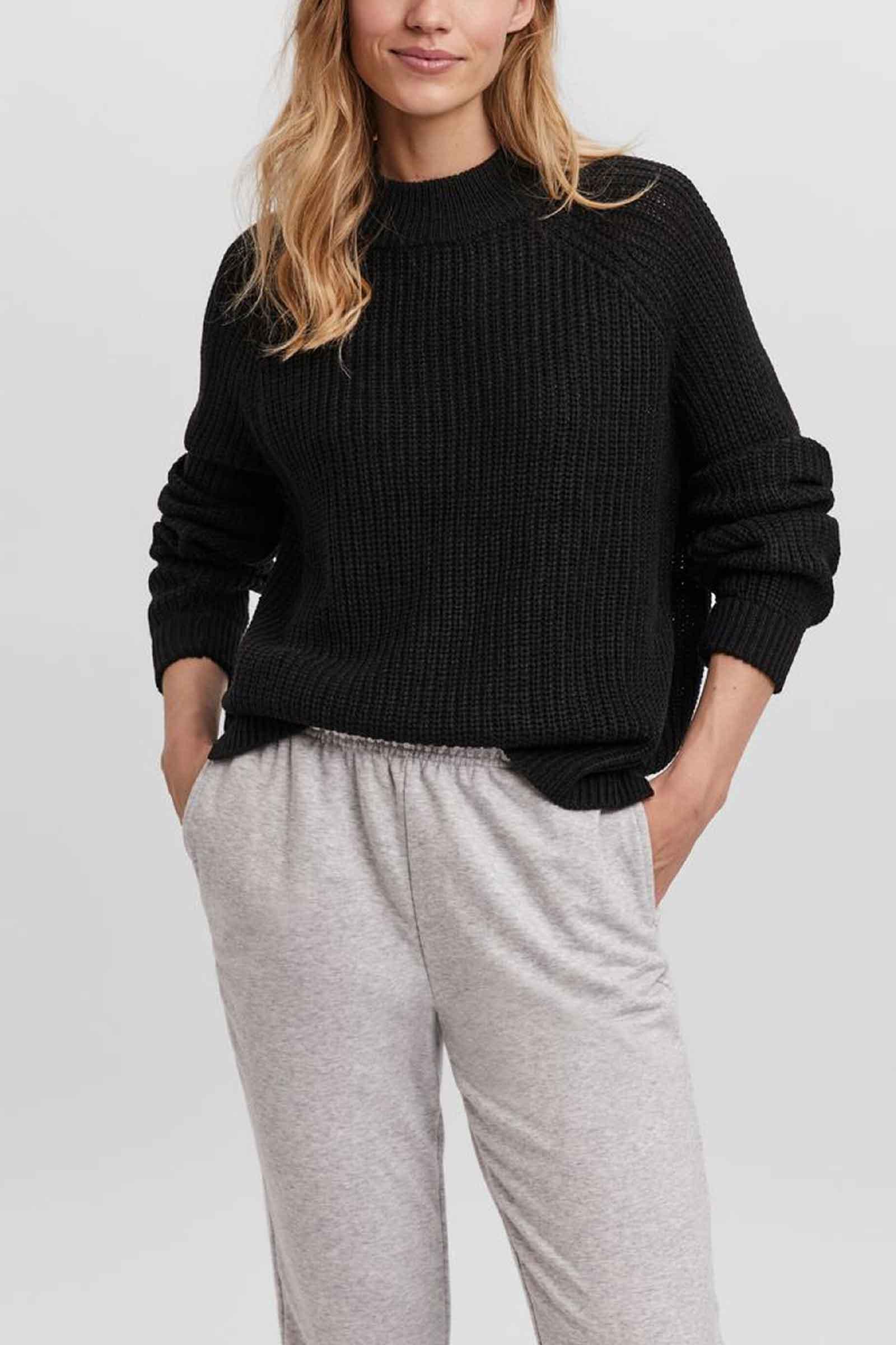 Women's Sweater VERO MODA | Mesh | 10255832Black