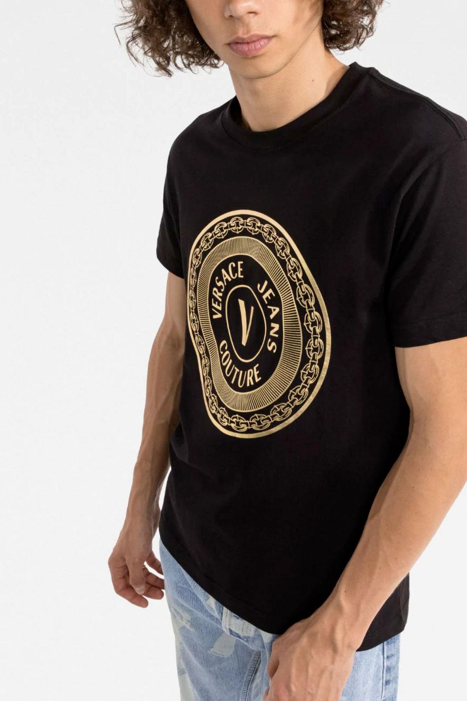 VERSACE JEANS COUTURE   T-Shirt   71GAHT12 CJ00TG89
