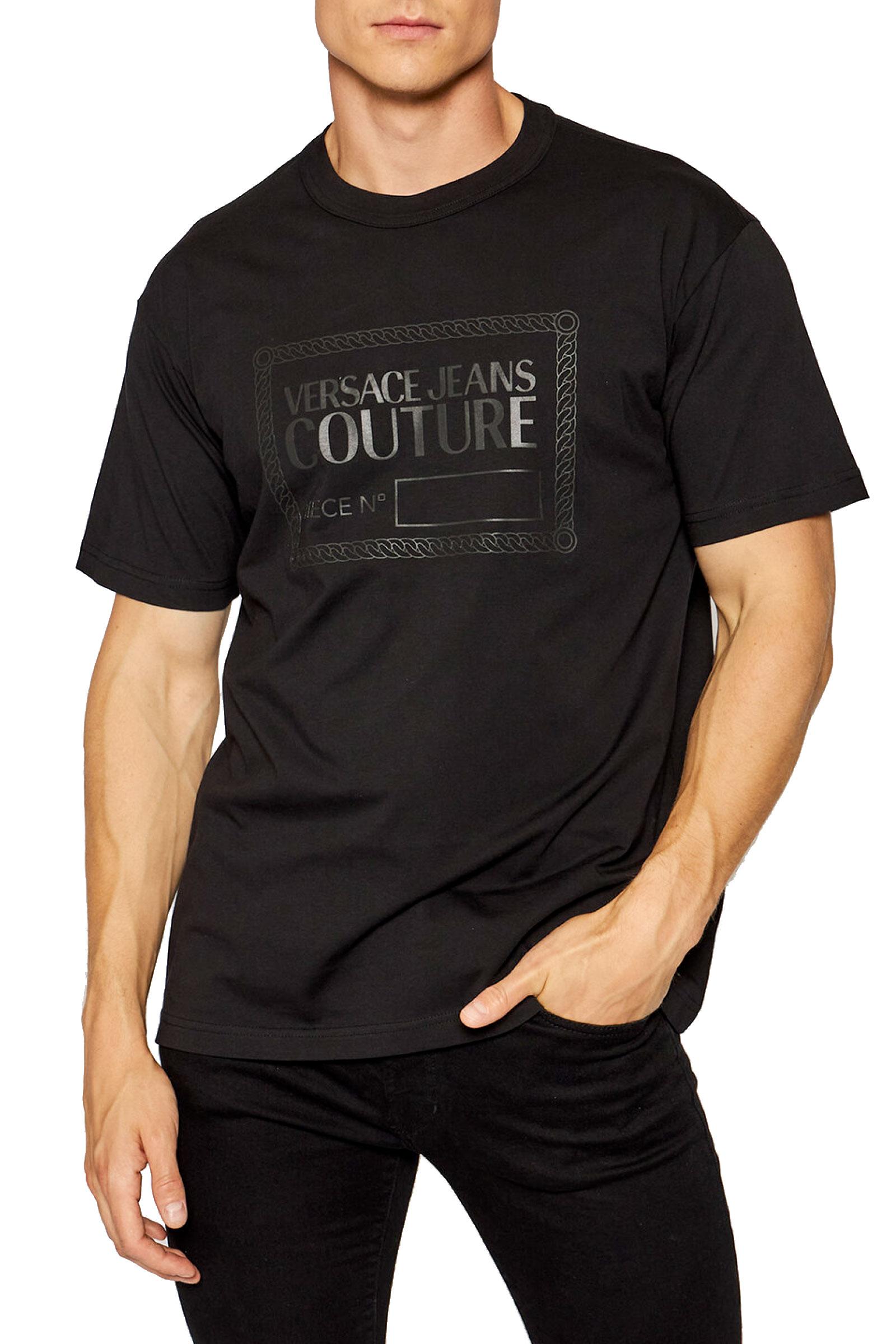 T-Shirt Uomo VERSACE JEANS COUTURE | T-Shirt | 71GAHT13 CJ00T899