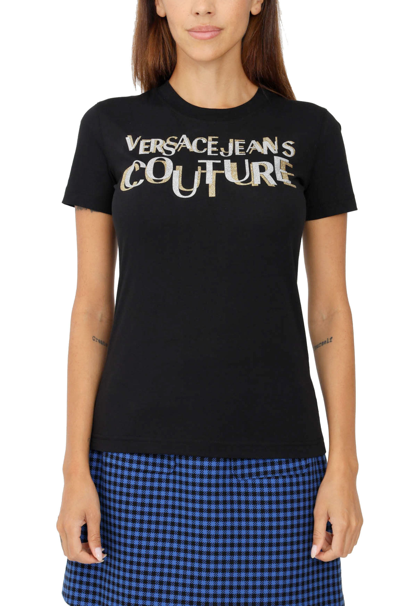 VERSACE JEANS COUTURE | T-Shirt | 71HAHT02 CJ00TG89