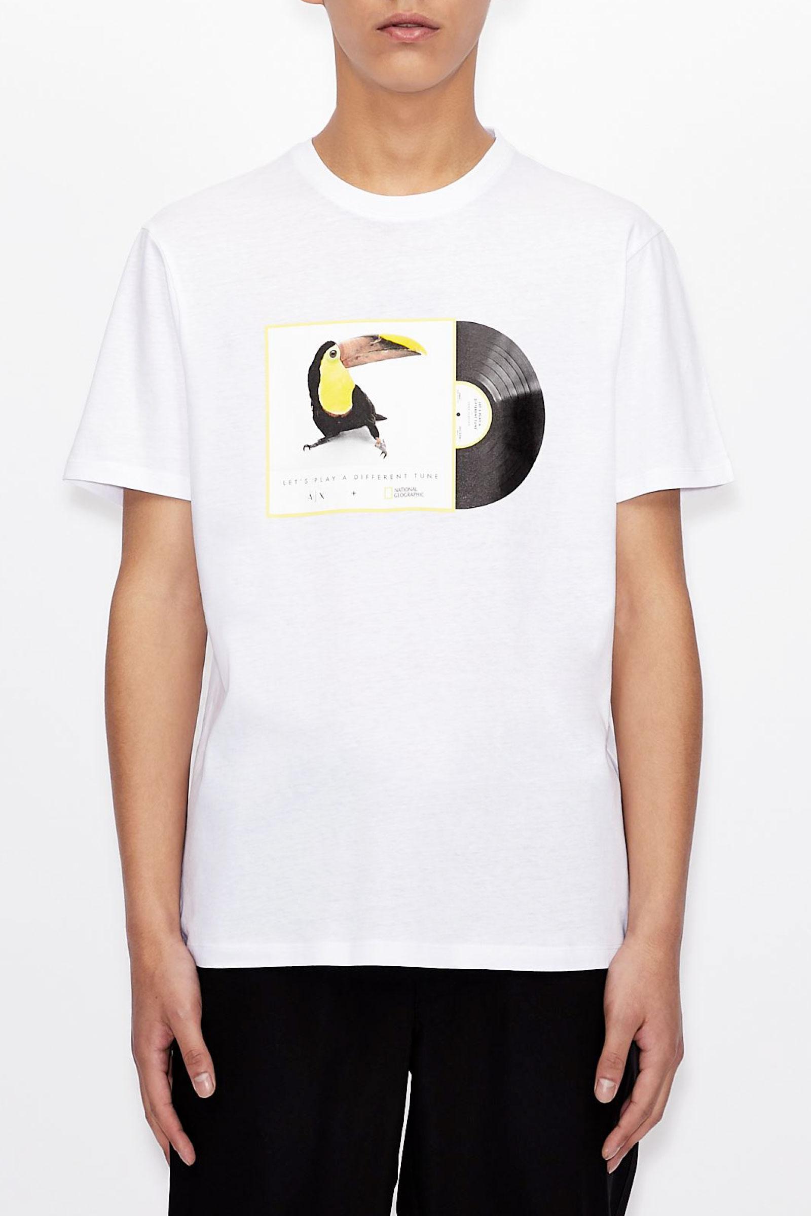 ARMANI EXCHANGE Men's T-Shirt ARMANI EXCHANGE | T-Shirt | 3KZTNA ZJ3DZ9185