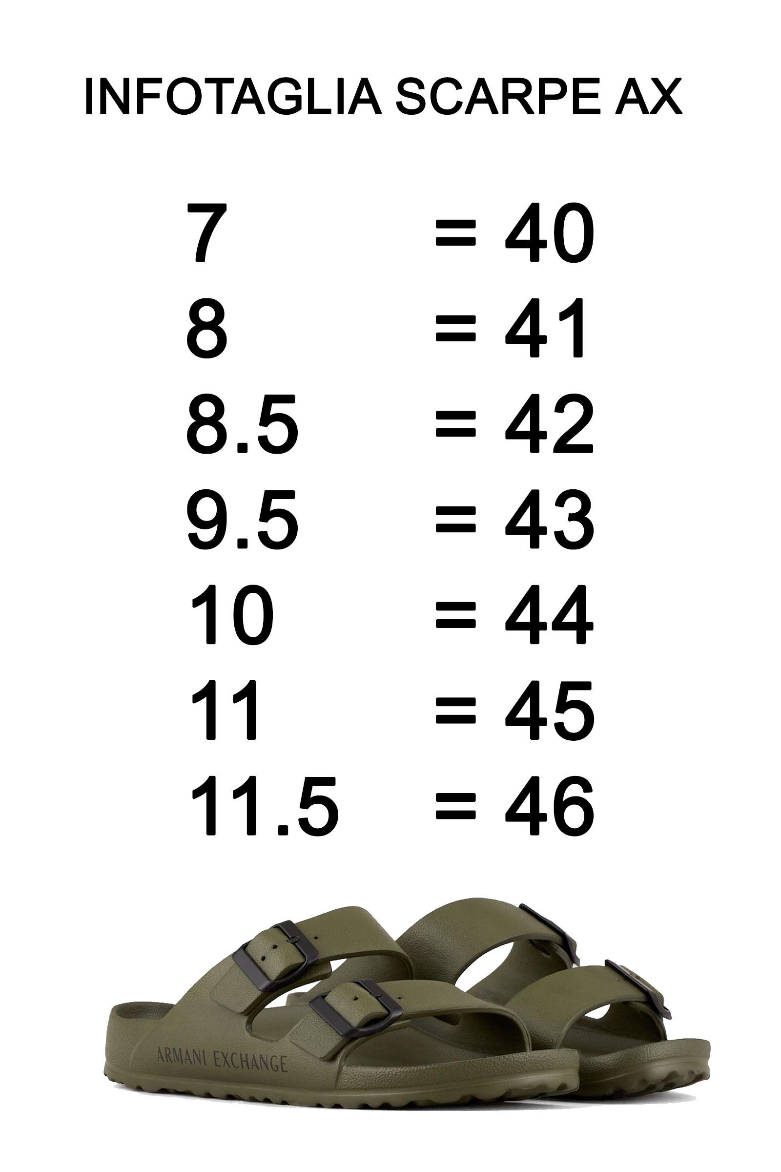 ARMANI EXCHANGE Men's Sandals ARMANI EXCHANGE |  | XUP006 XV292K535