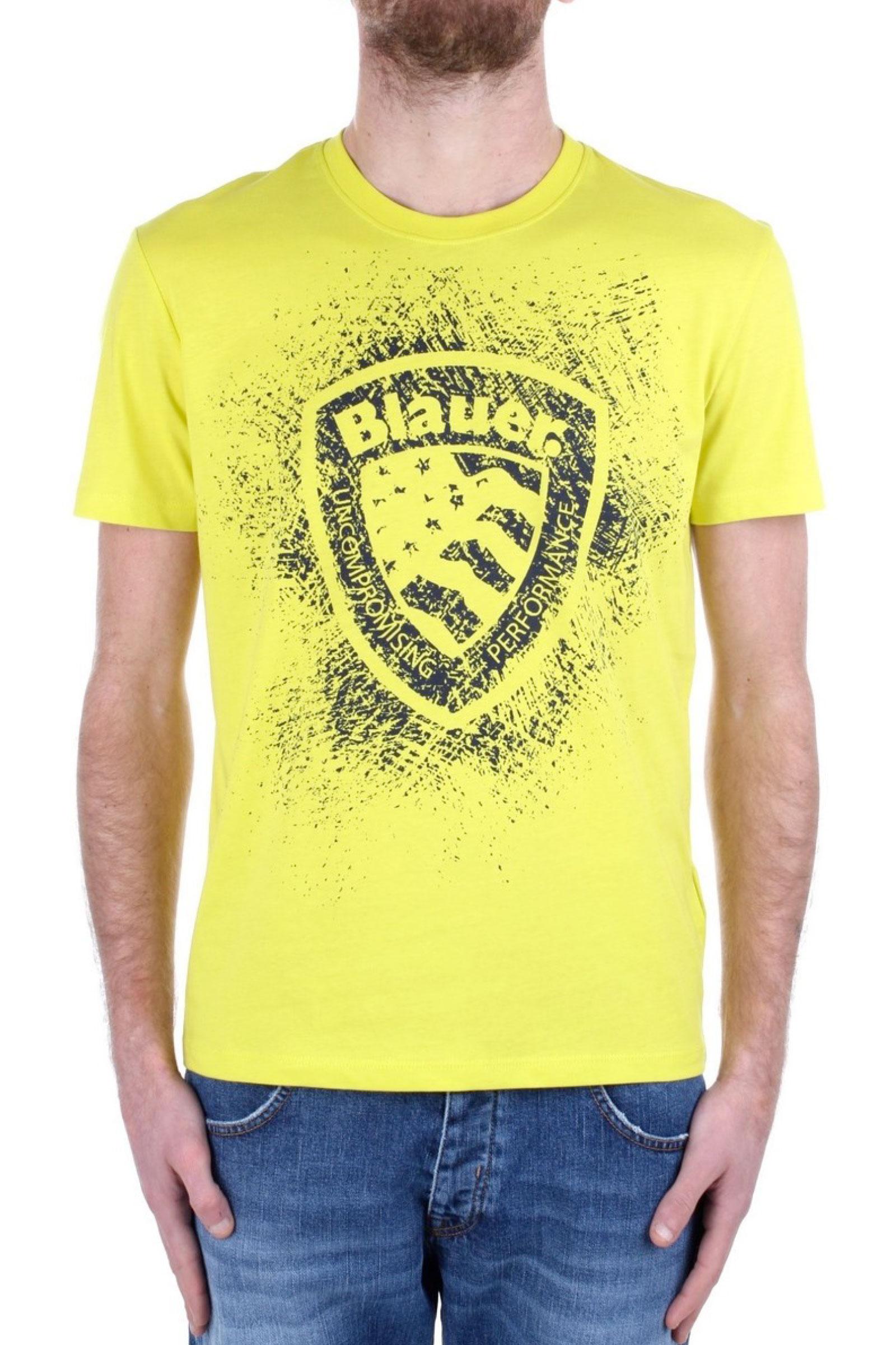BLAUER Men's T-Shirt BLAUER | T-Shirt | 21SBLUH02134218