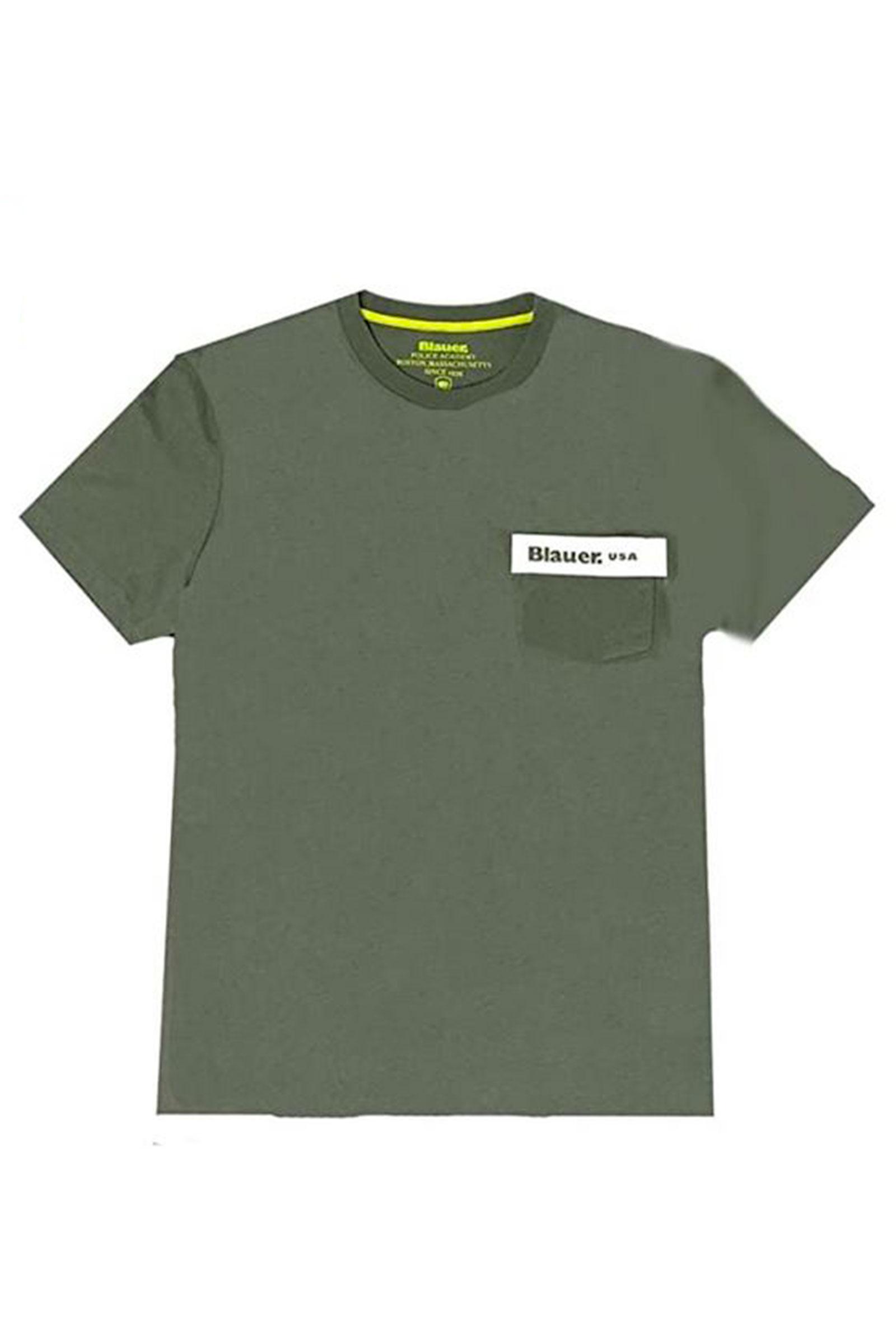BLAUER Men's T-Shirt BLAUER | T-Shirt | 21SBLUH02136702
