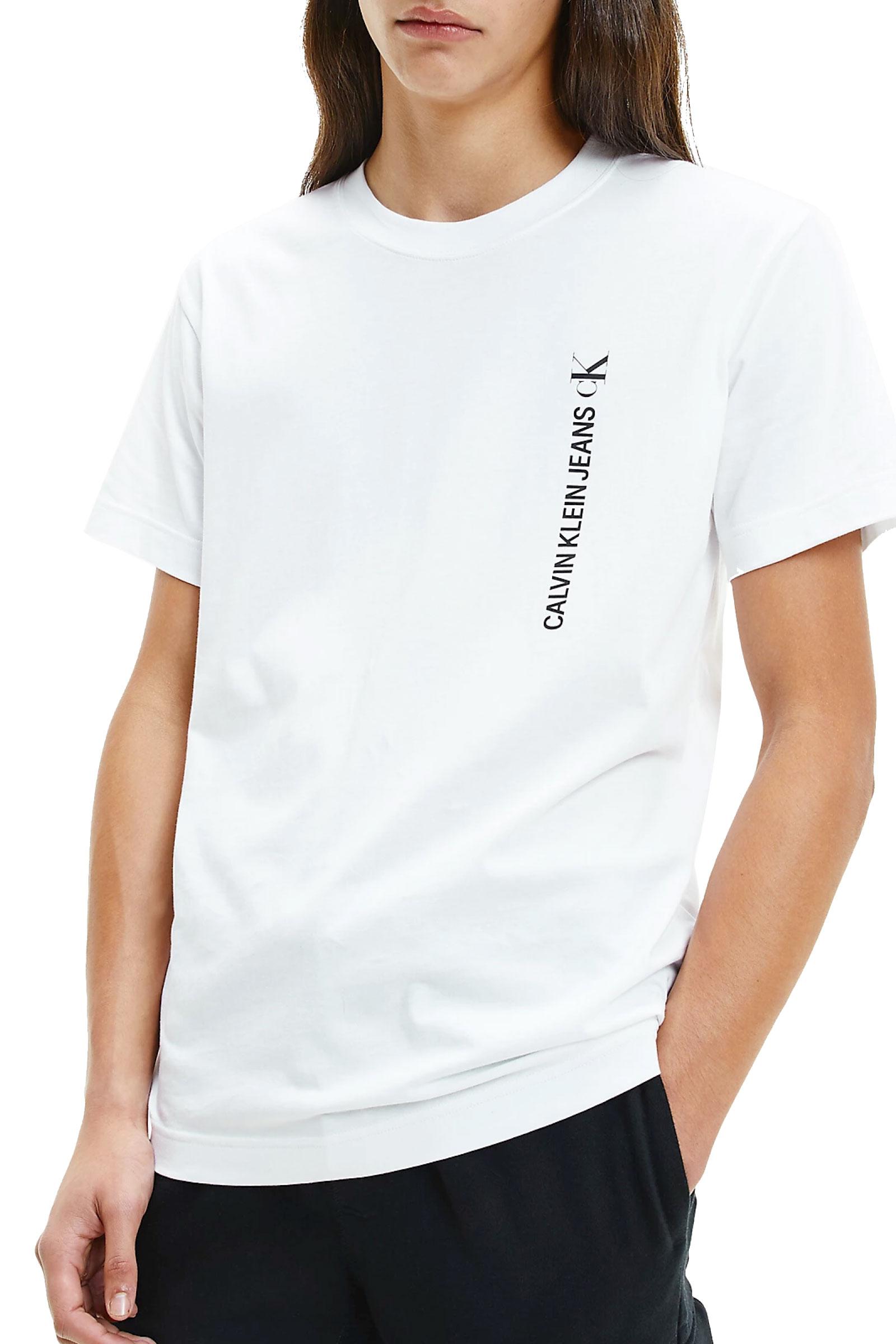 CALVIN KLEIN JEANS T-Shirt Uomo CALVIN KLEIN JEANS   T-Shirt   J30J318303YAF