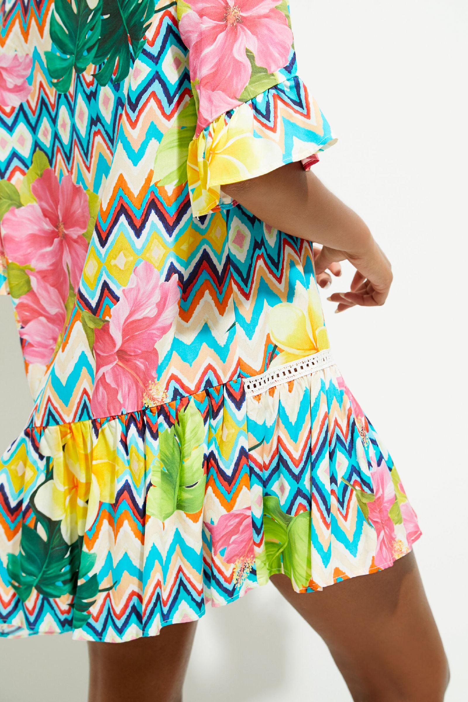 Vestito Mare Modello MICONOS DESIGUAL | Vestito | 21SWMW335037