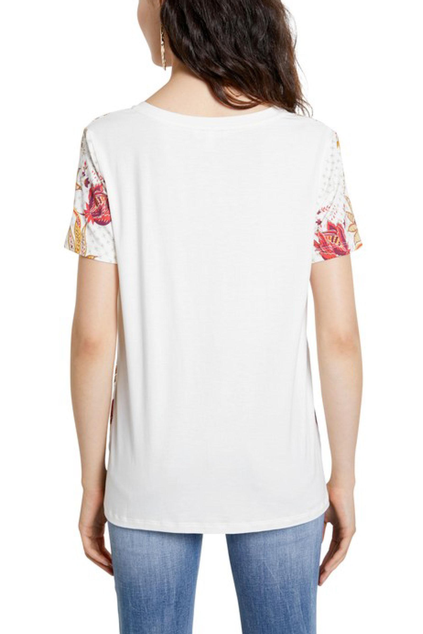 DESIGUAL   T-Shirt   21SWTK181000
