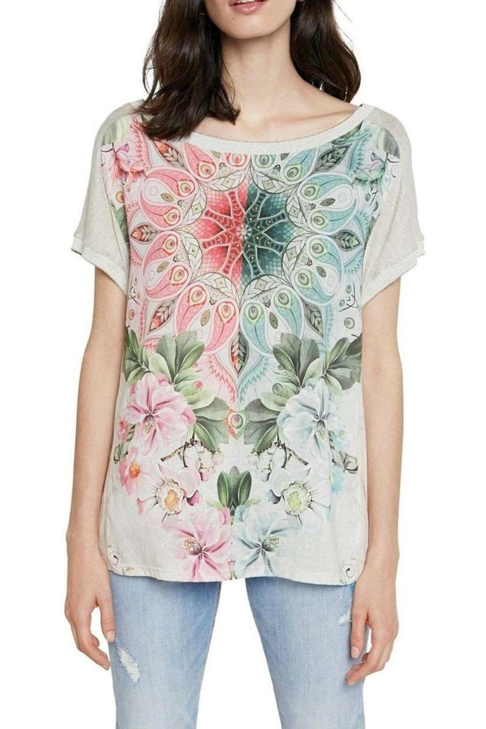 T-Shirt Modello COPENHAGUE DESIGUAL   T-Shirt   21SWTK423021