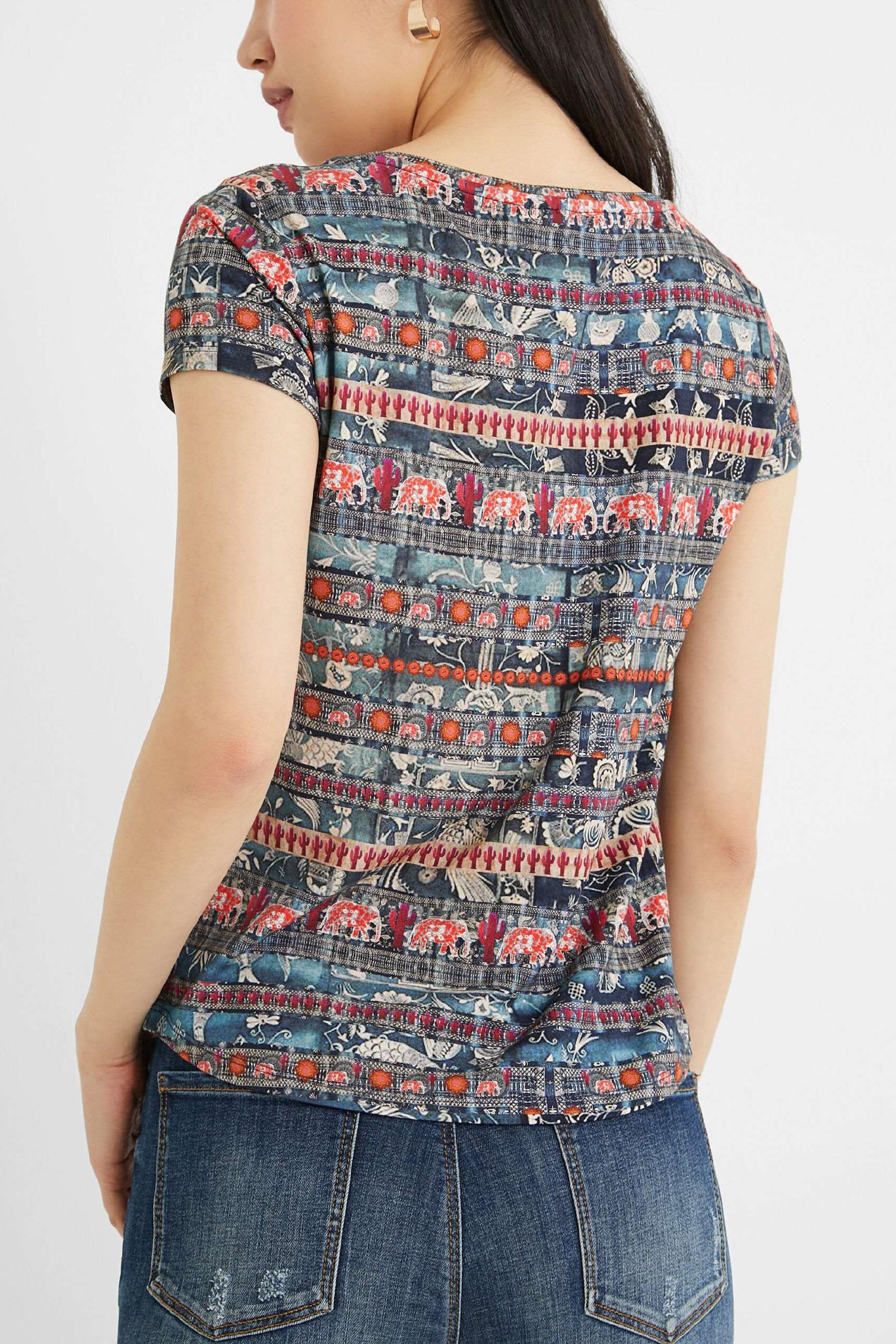 T-Shirt Modello SANTORINI DESIGUAL | T-Shirt | 21SWTK745012