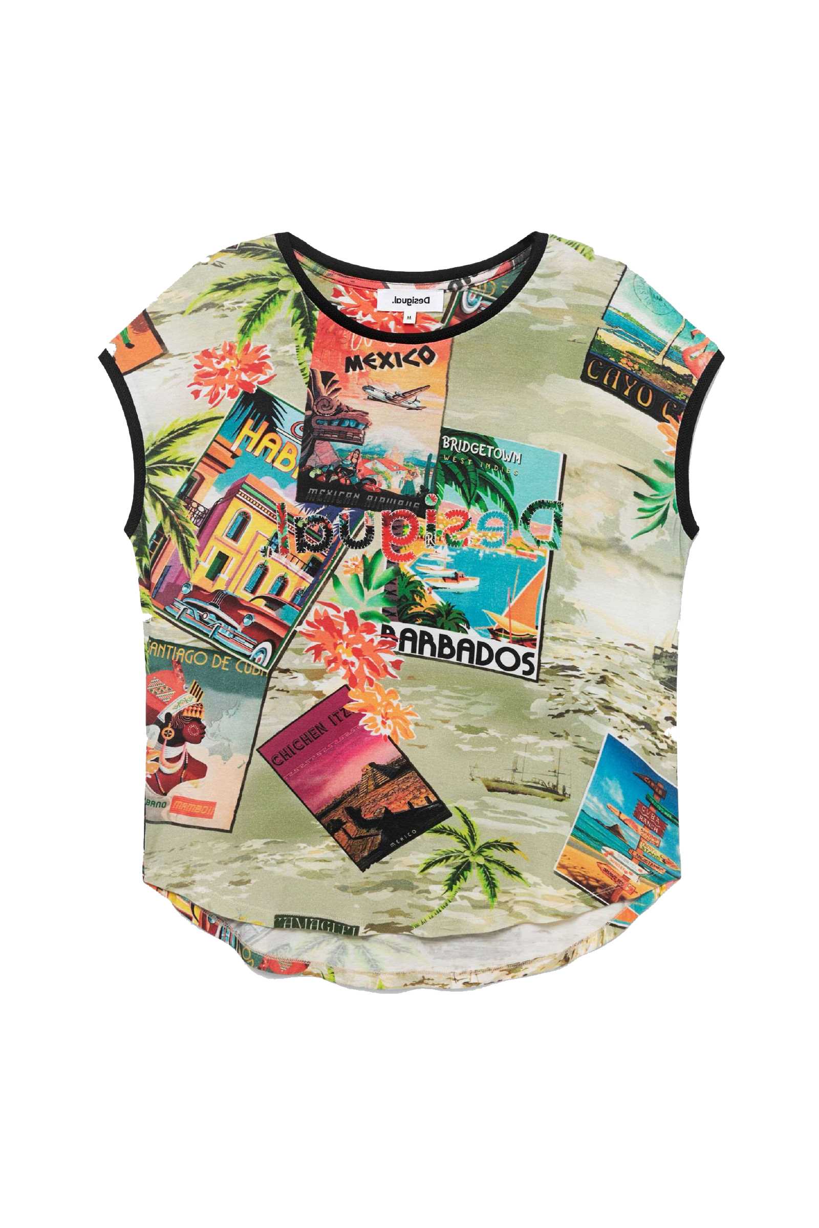 T-Shirt Modello COLOMBIA DESIGUAL | T-Shirt | 21SWTKAV6016
