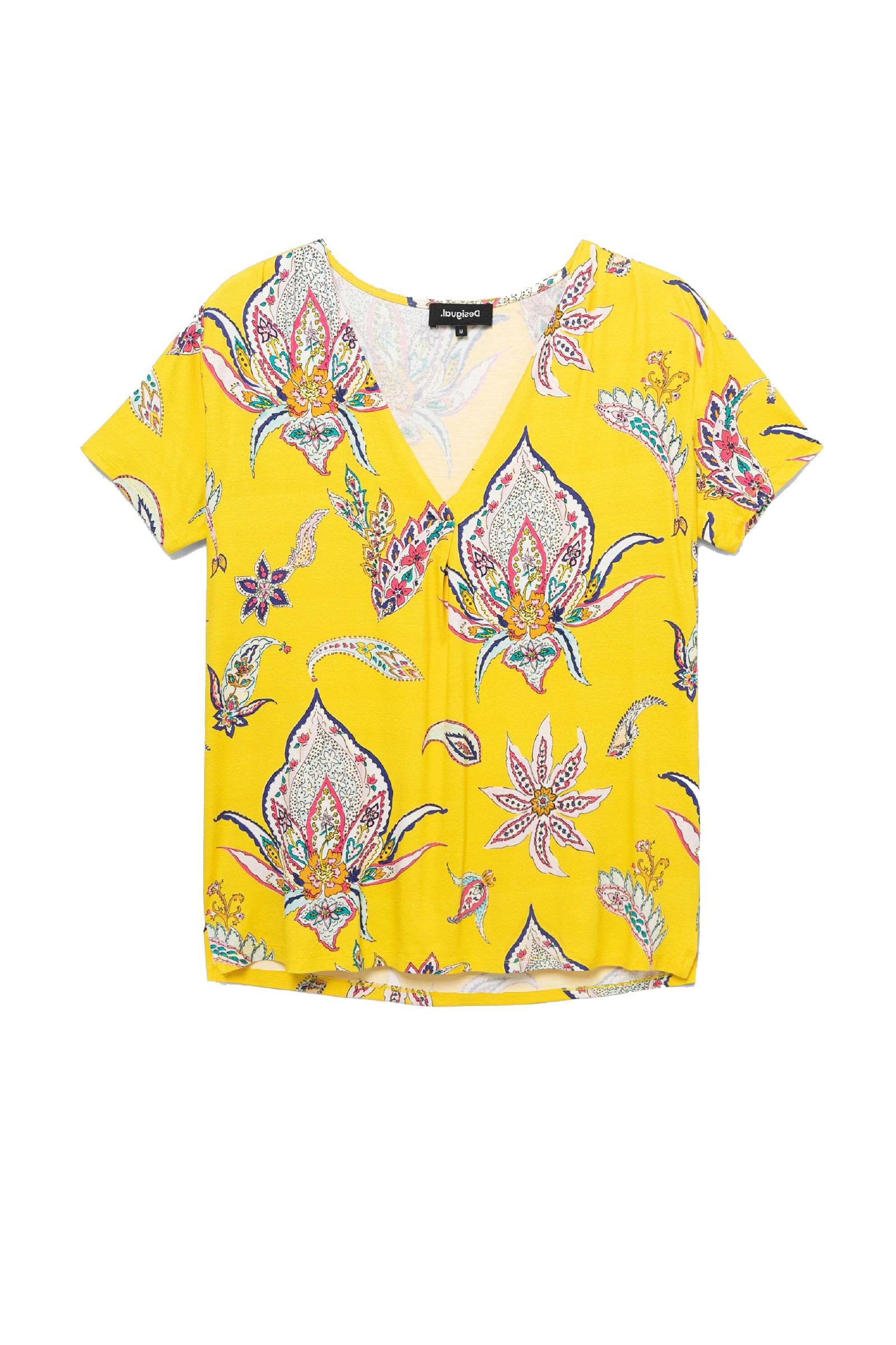 T-Shirt Modello LEMARK DESIGUAL | T-Shirt | 21SWTKD58031