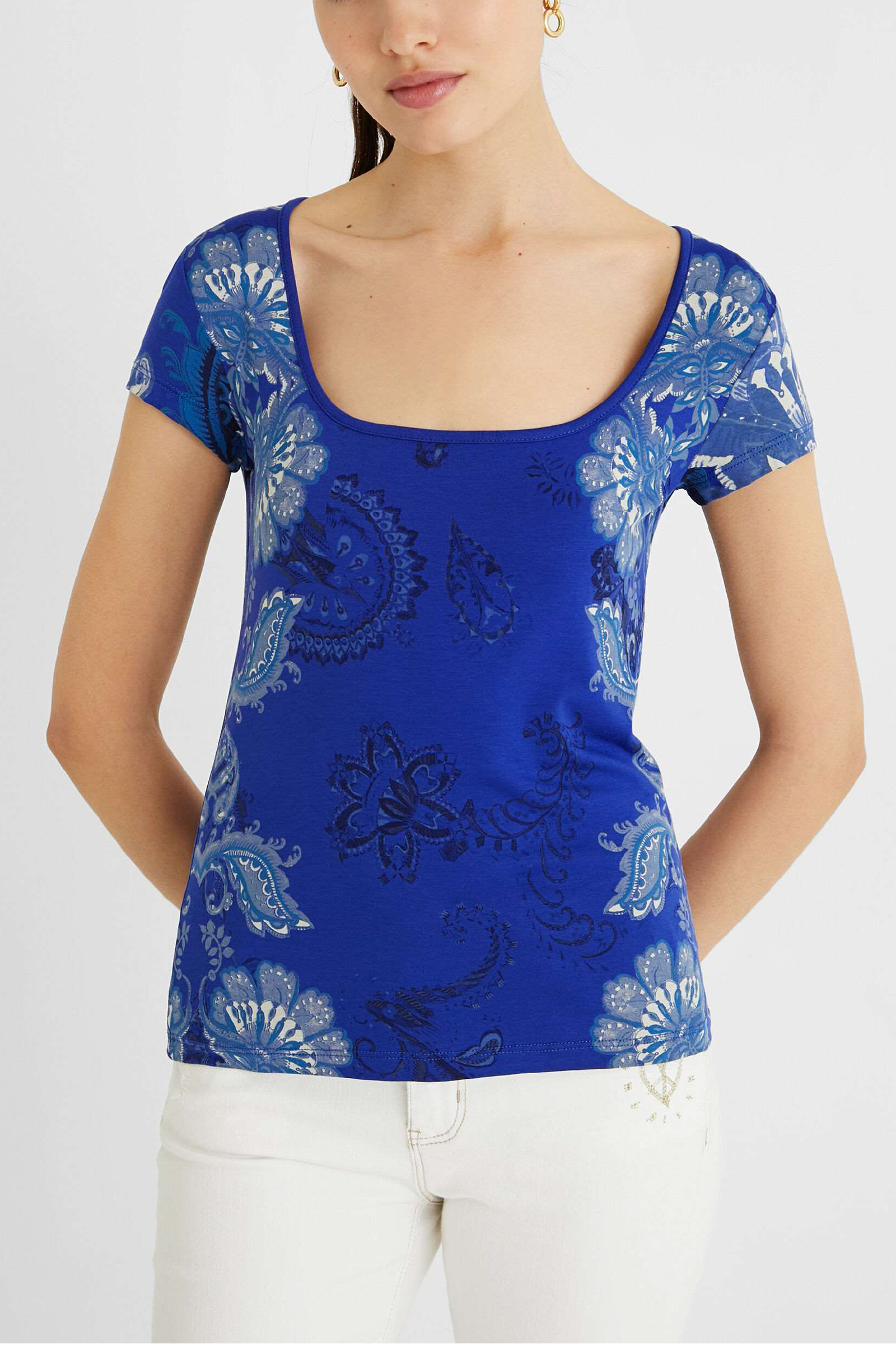 T-Shirt Modello BRASILIA DESIGUAL | T-Shirt | 21SWTKD85000