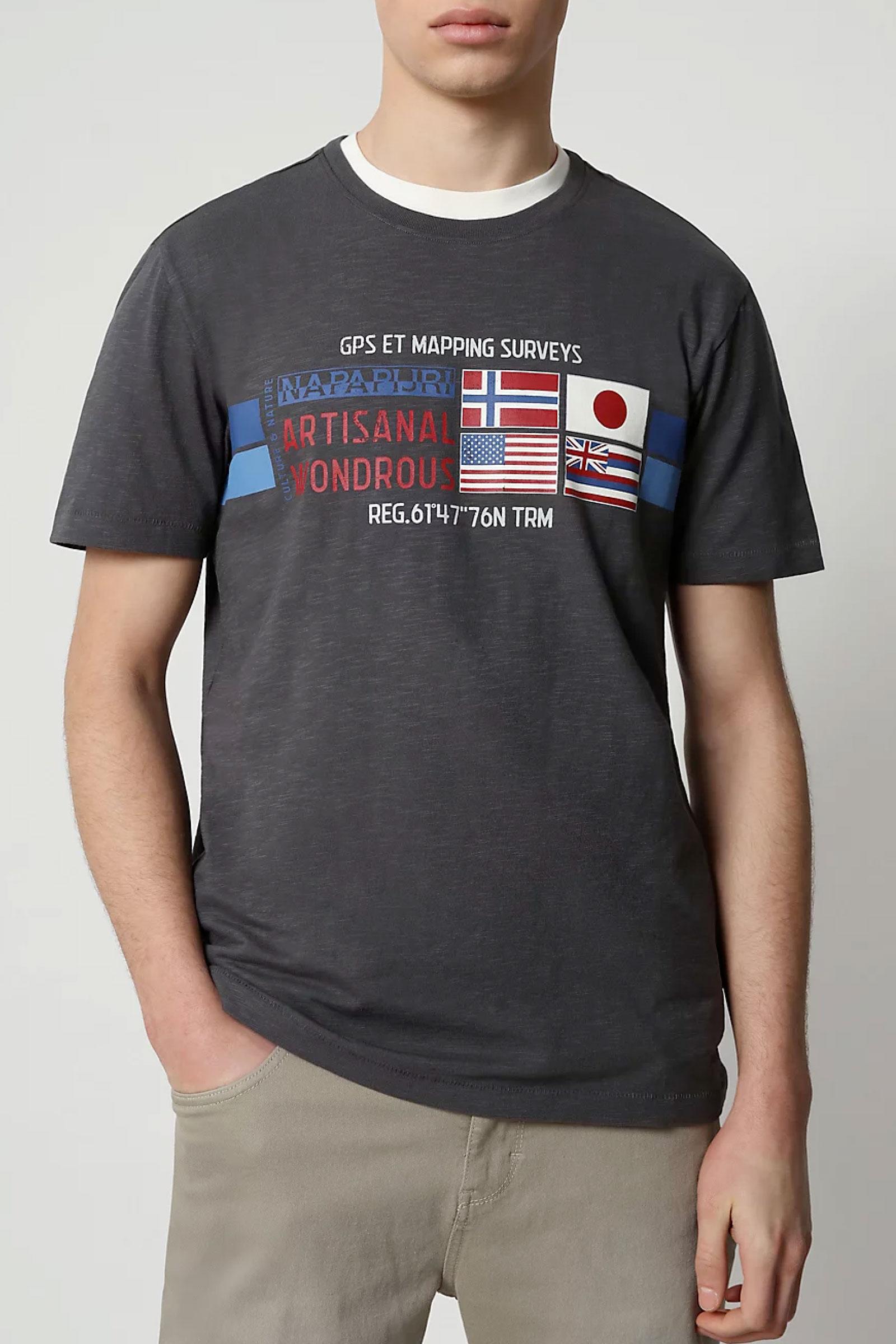 T-Shirt Uomo Modello SILEA NAPAPIJRI | T-Shirt | NP0A4F6J1981