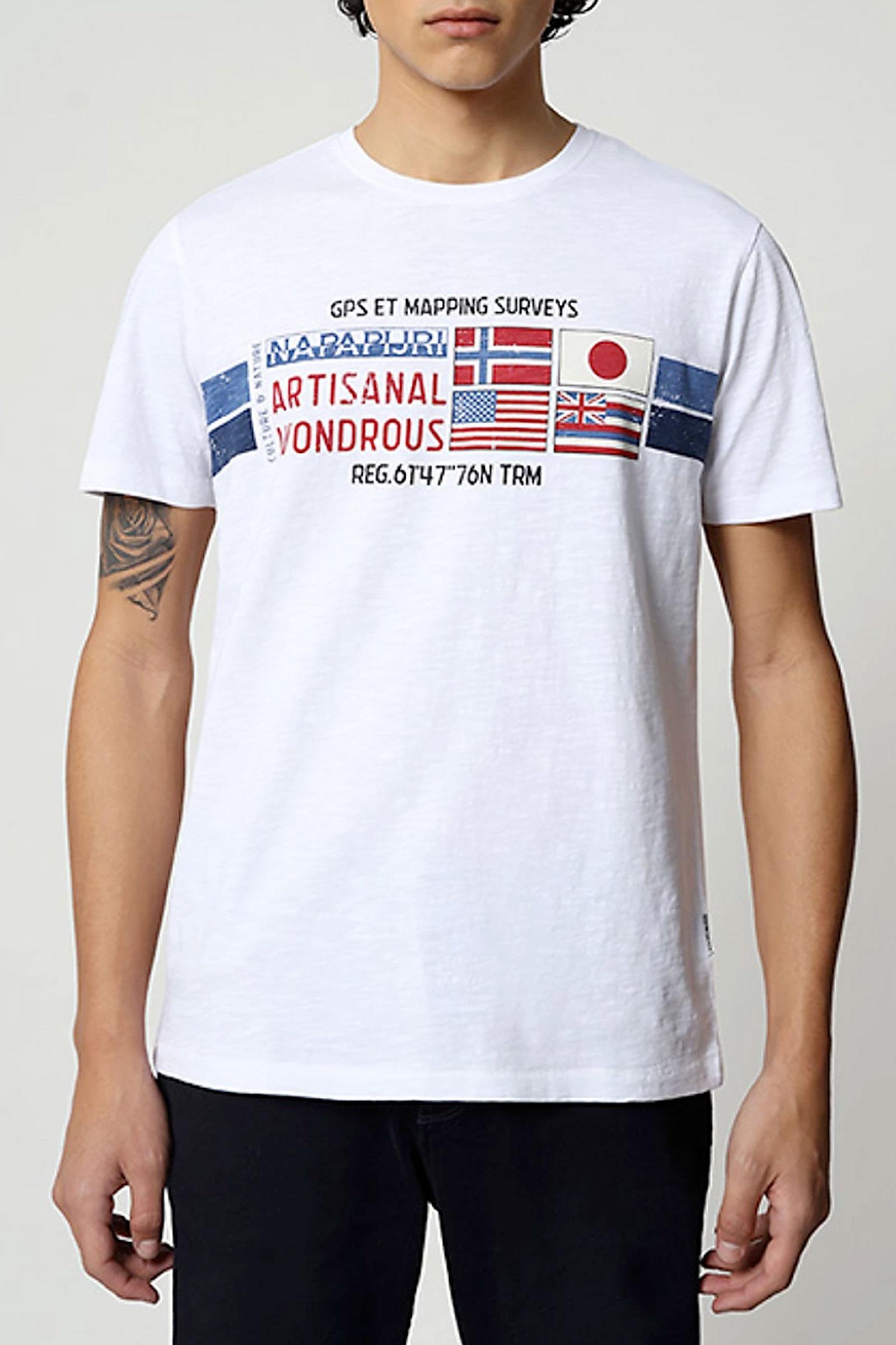 T-Shirt Uomo Modello SILEA NAPAPIJRI   T-Shirt   NP0A4F6J21
