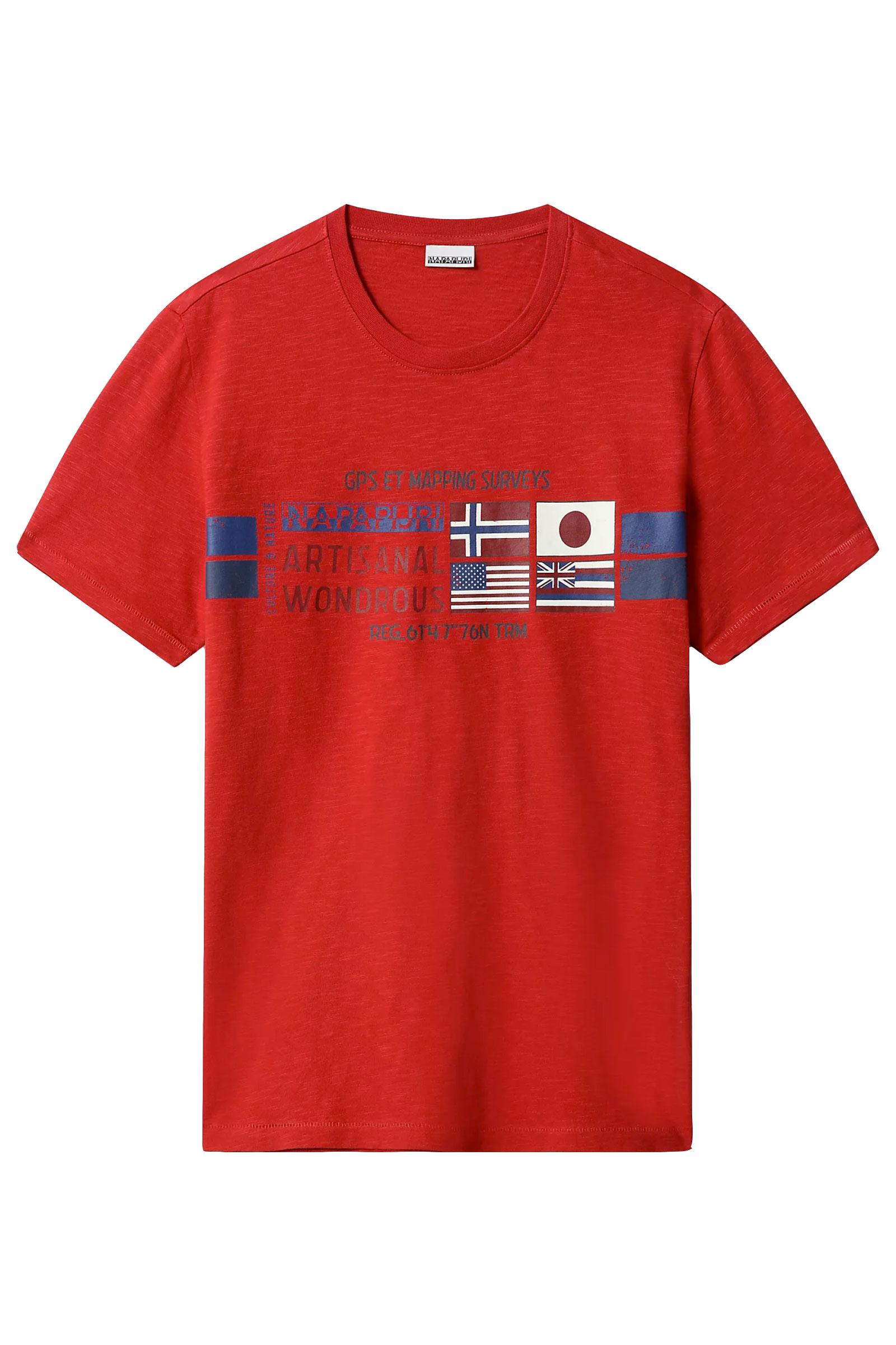 T-Shirt Uomo Modello SILEA NAPAPIJRI   T-Shirt   NP0A4F6J941