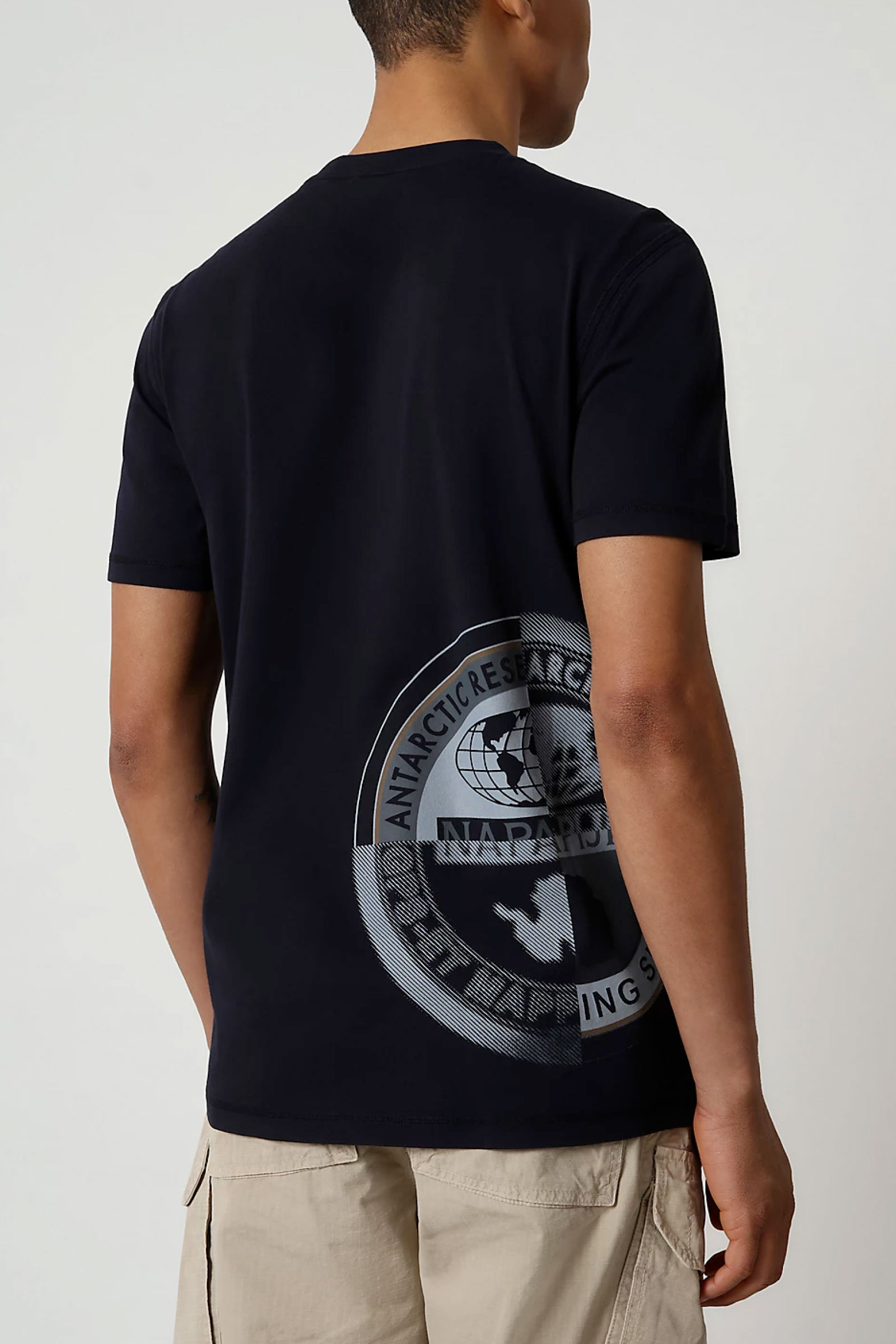 T-Shirt Uomo Modello SEOB NAPAPIJRI   T-Shirt   NP0A4F6K1761