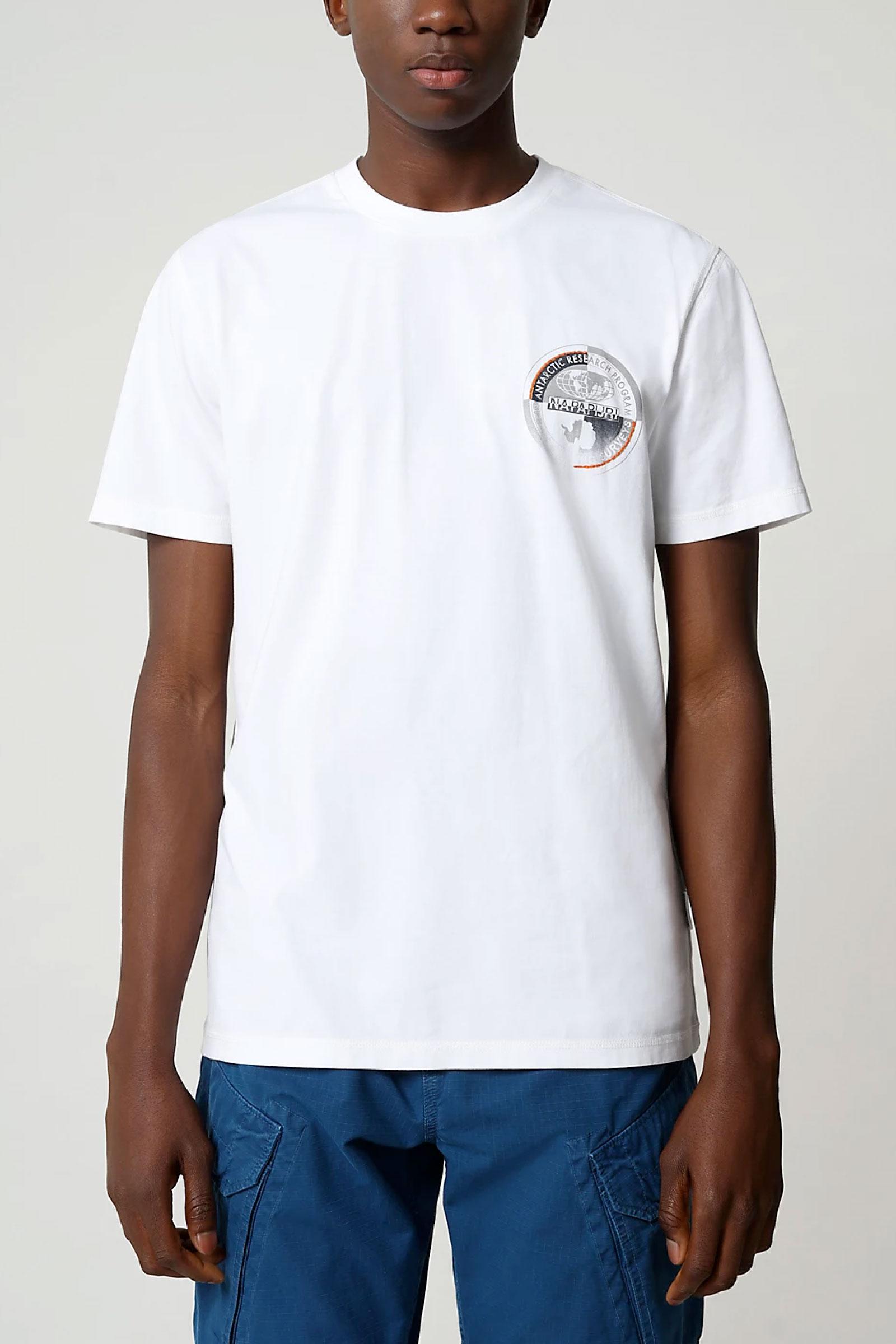 T-Shirt Uomo Modello SEOB NAPAPIJRI | T-Shirt | NP0A4F6K21