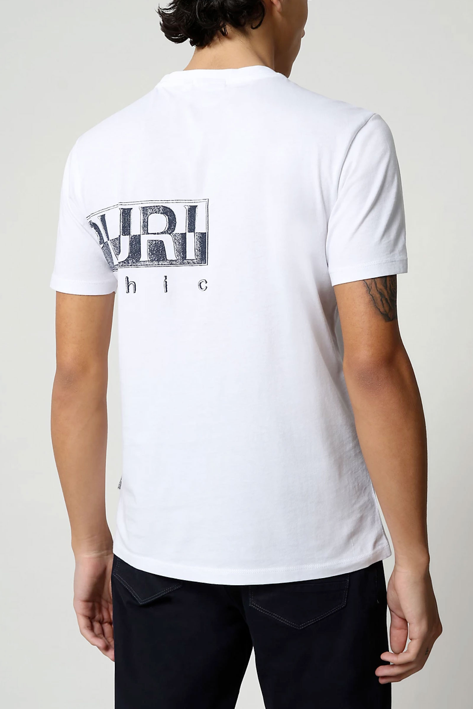 T-Shirt Uomo Modello SALLAR LOGO NAPAPIJRI | T-Shirt | NP0A4F9N21