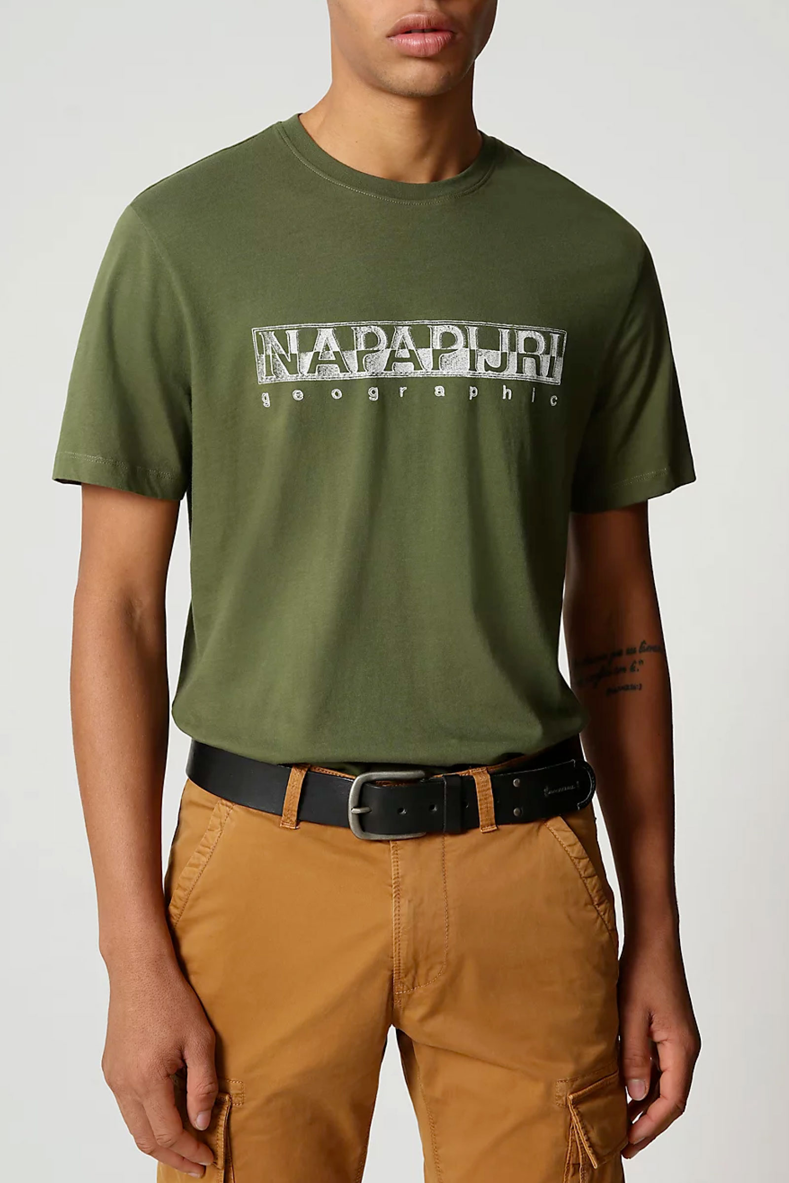 T-Shirt Uomo Modello SALLAR SS NAPAPIJRI | T-Shirt | NP0A4F9OG2C1