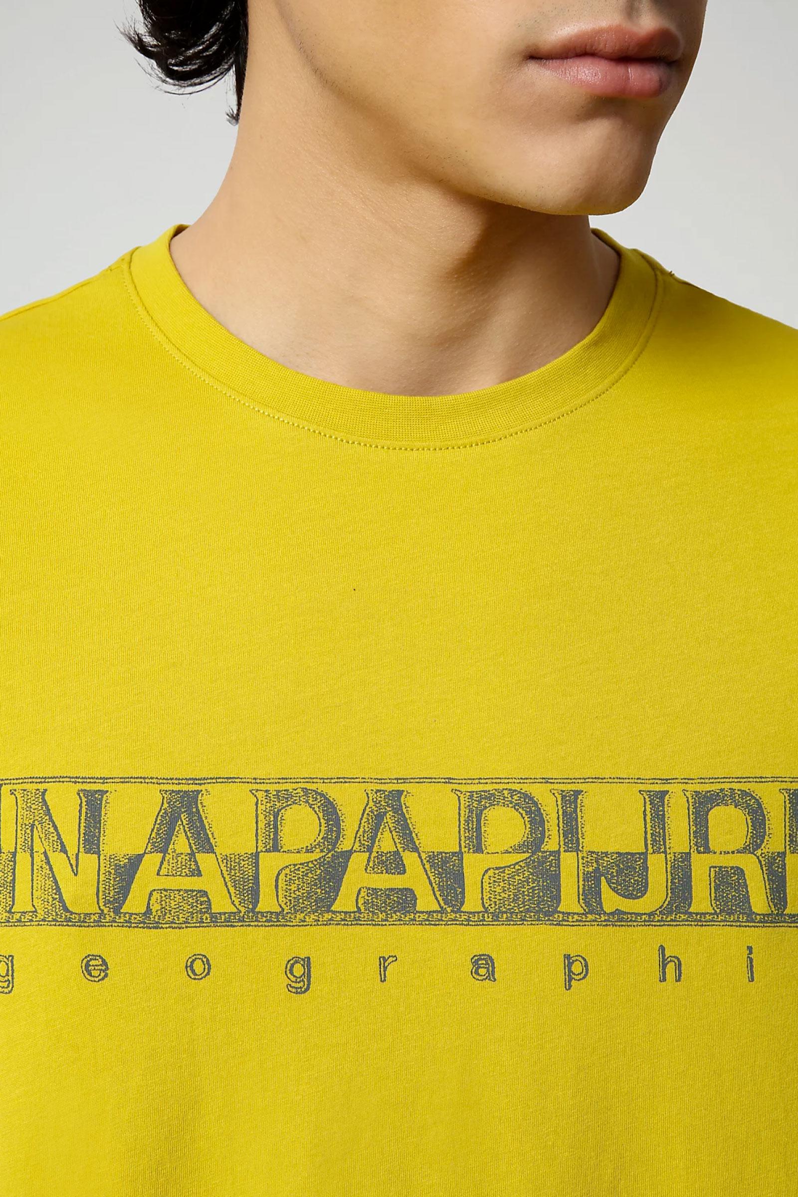 T-Shirt Uomo Modello SALLAR SS NAPAPIJRI   T-Shirt   NP0A4F9OYA91