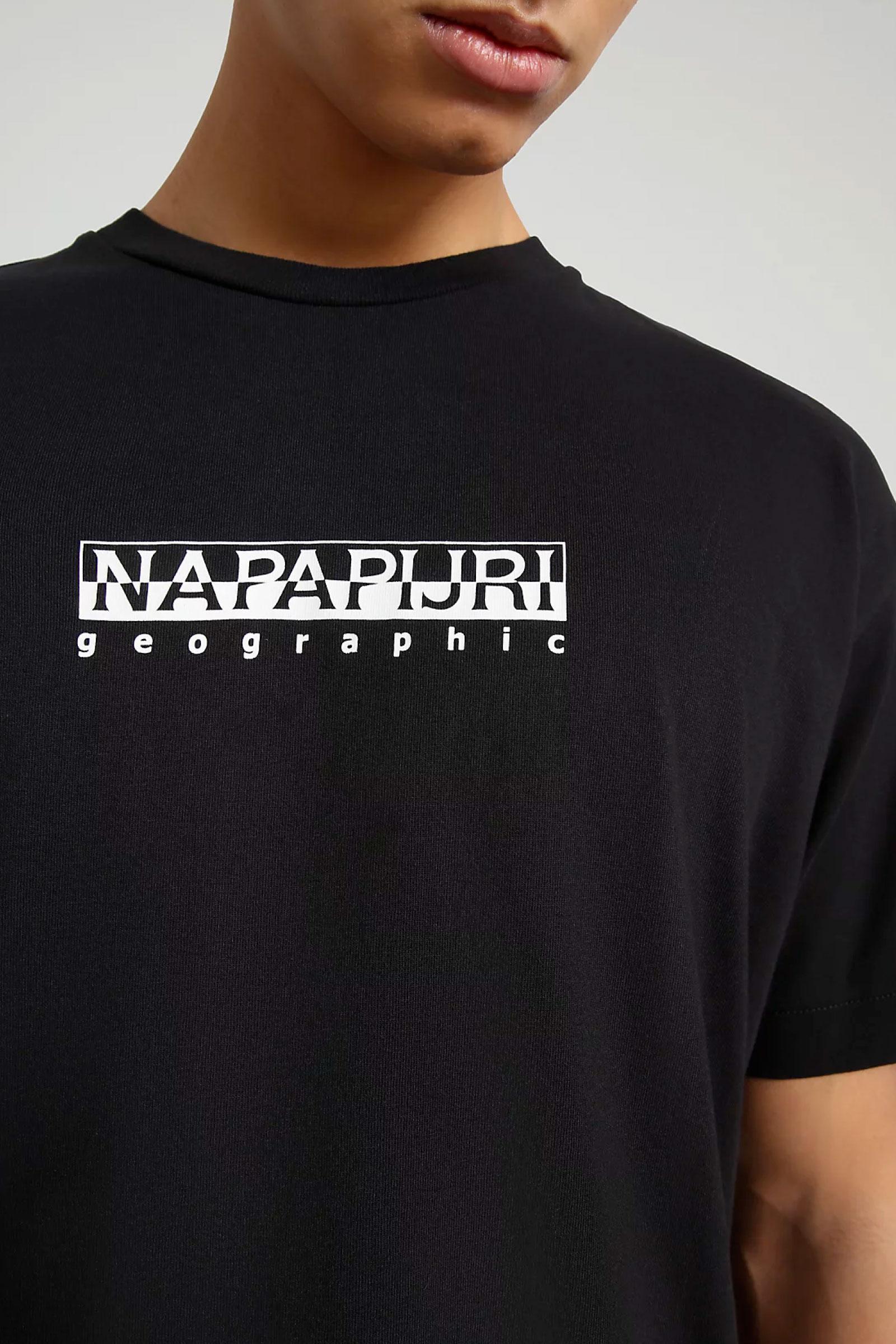 T-Shirt Uomo Modello S-BOX SS 1 NAPAPIJRI | T-Shirt | NP0A4FF5411