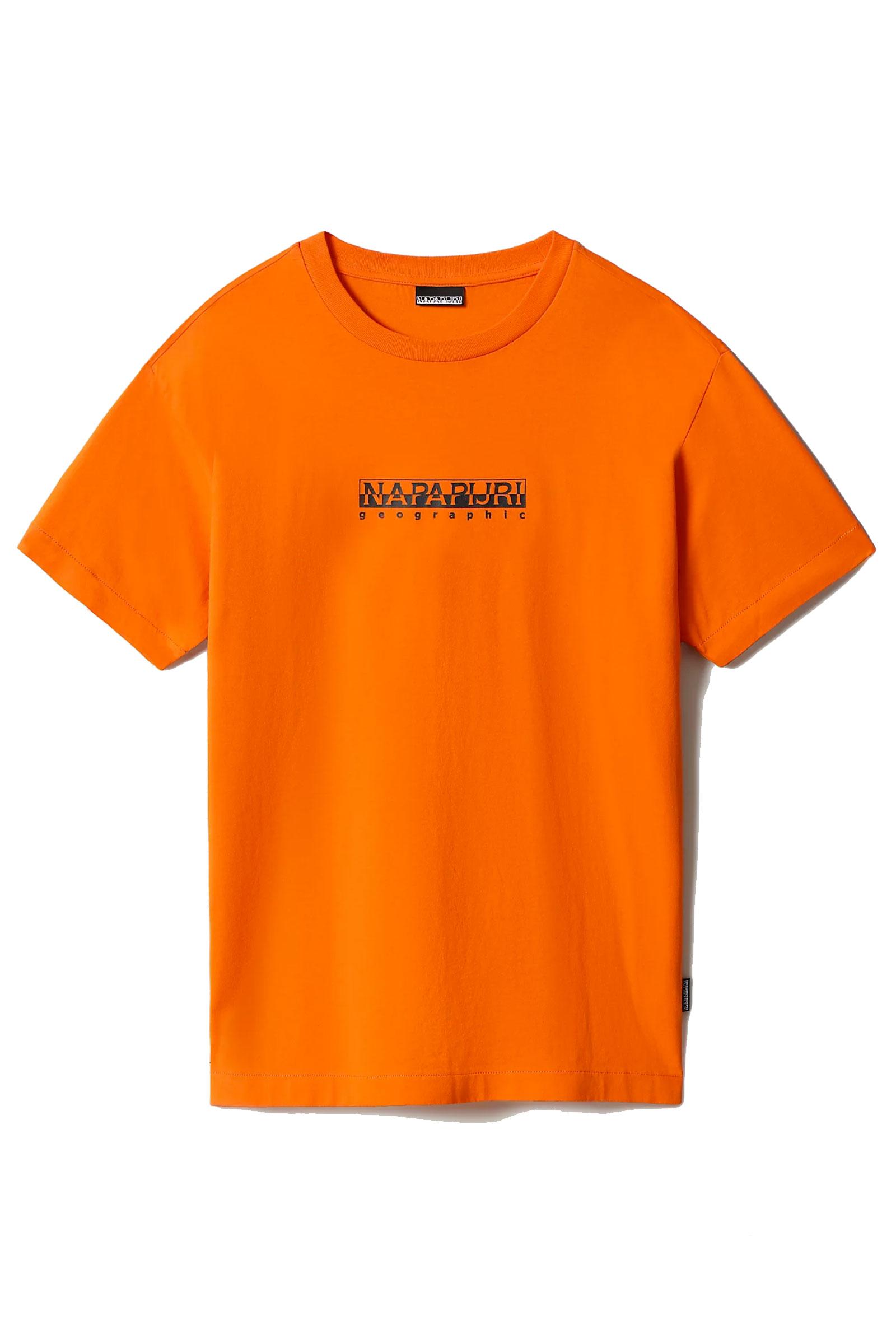 T-Shirt Uomo Modello S-BOX SS 1 NAPAPIJRI   T-Shirt   NP0A4FF5A1A1