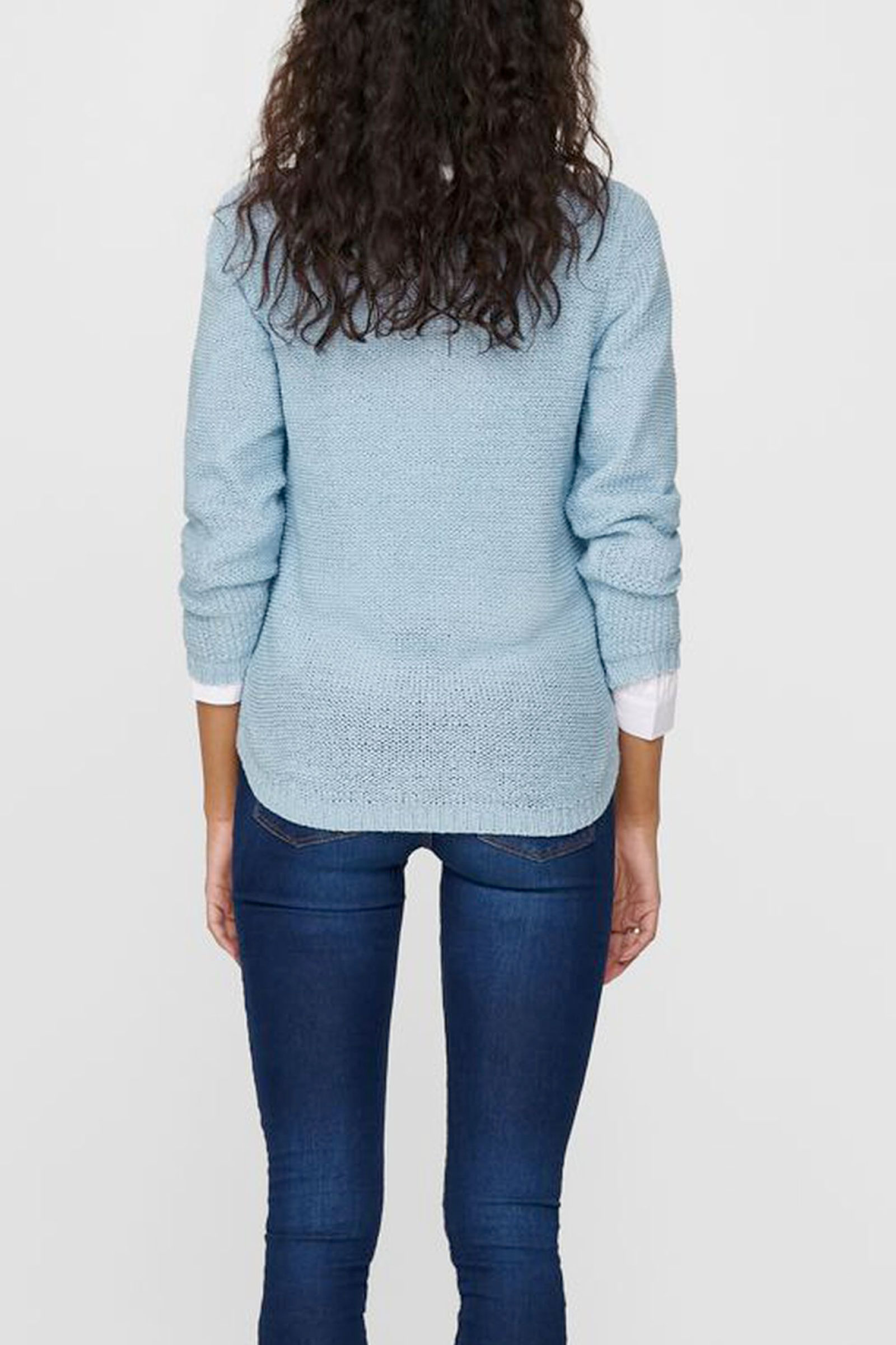 ONLY GEENA Woman Shirt ONLY   Mesh   15113356CASHMERE BLUE