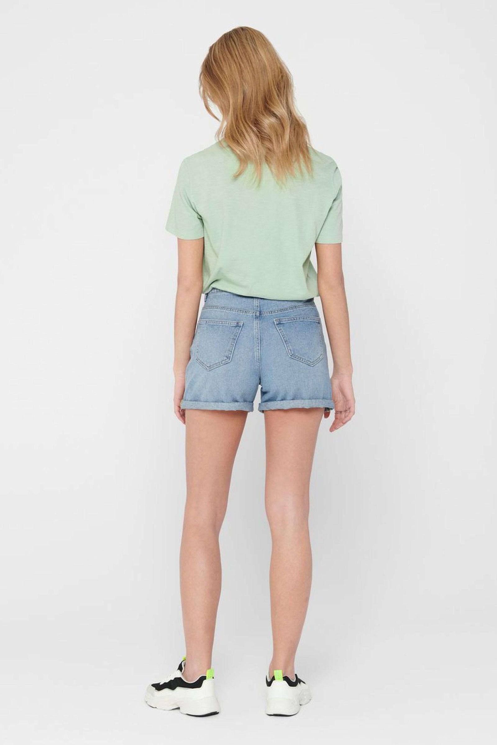 ONLY Shorts Donna ONLY |  | 15196224Light Blue Denim