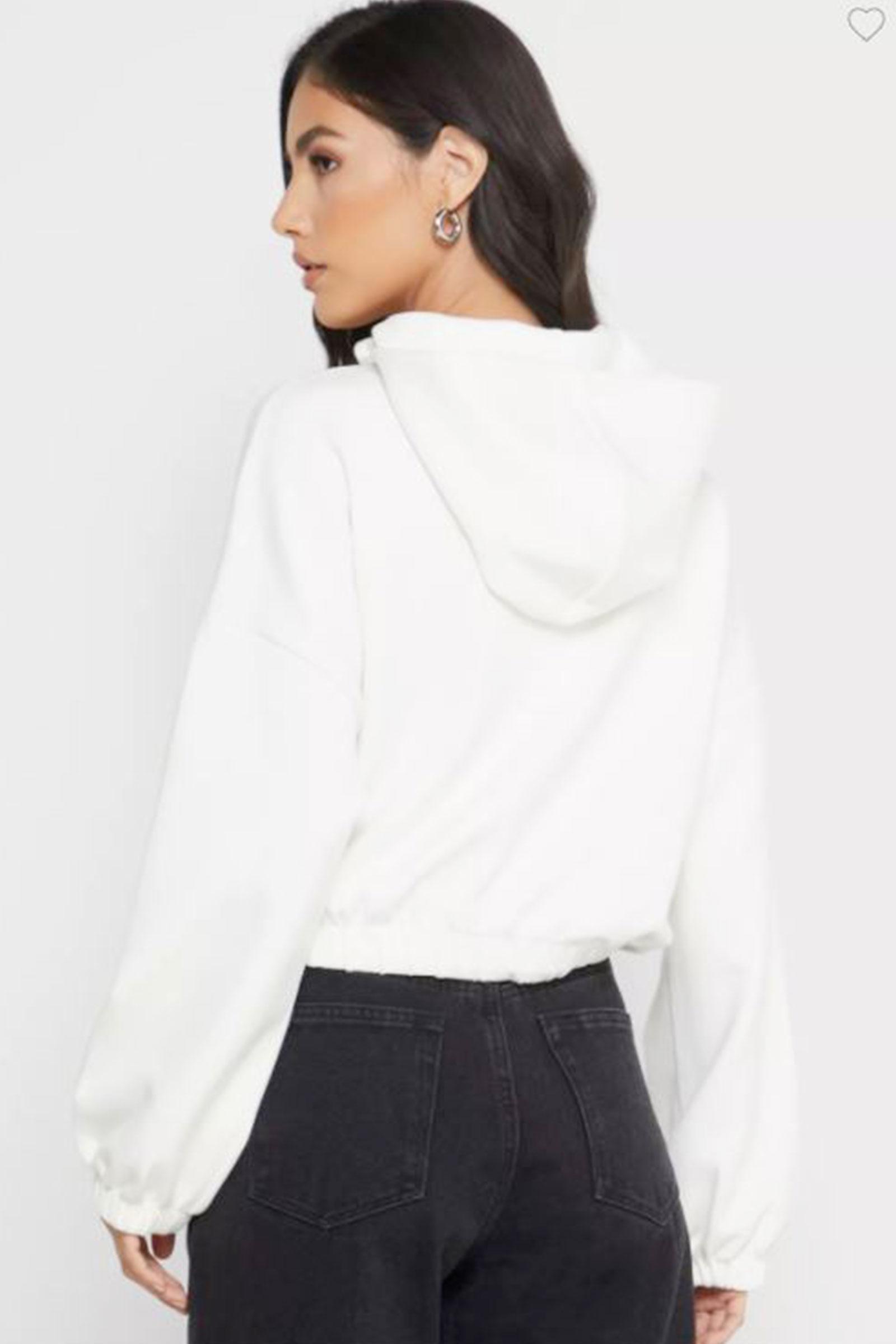 ONLY Women's Sweatshirt ONLY | Sweatshirt | 15210679Cloud Dancer