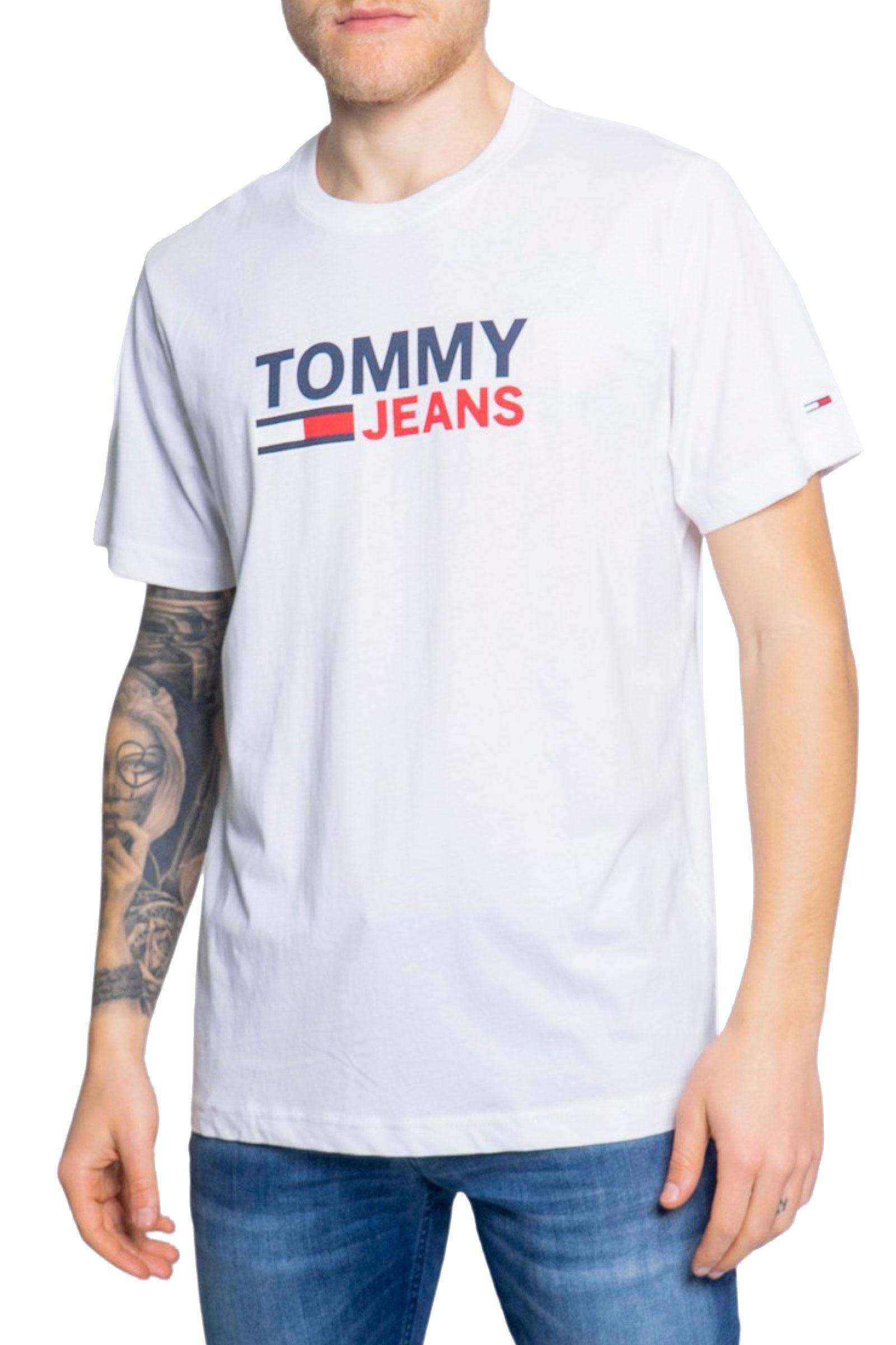 TOMMY JEANS T-Shirt Uomo TOMMY JEANS   T-Shirt   DM0DM10214YBR