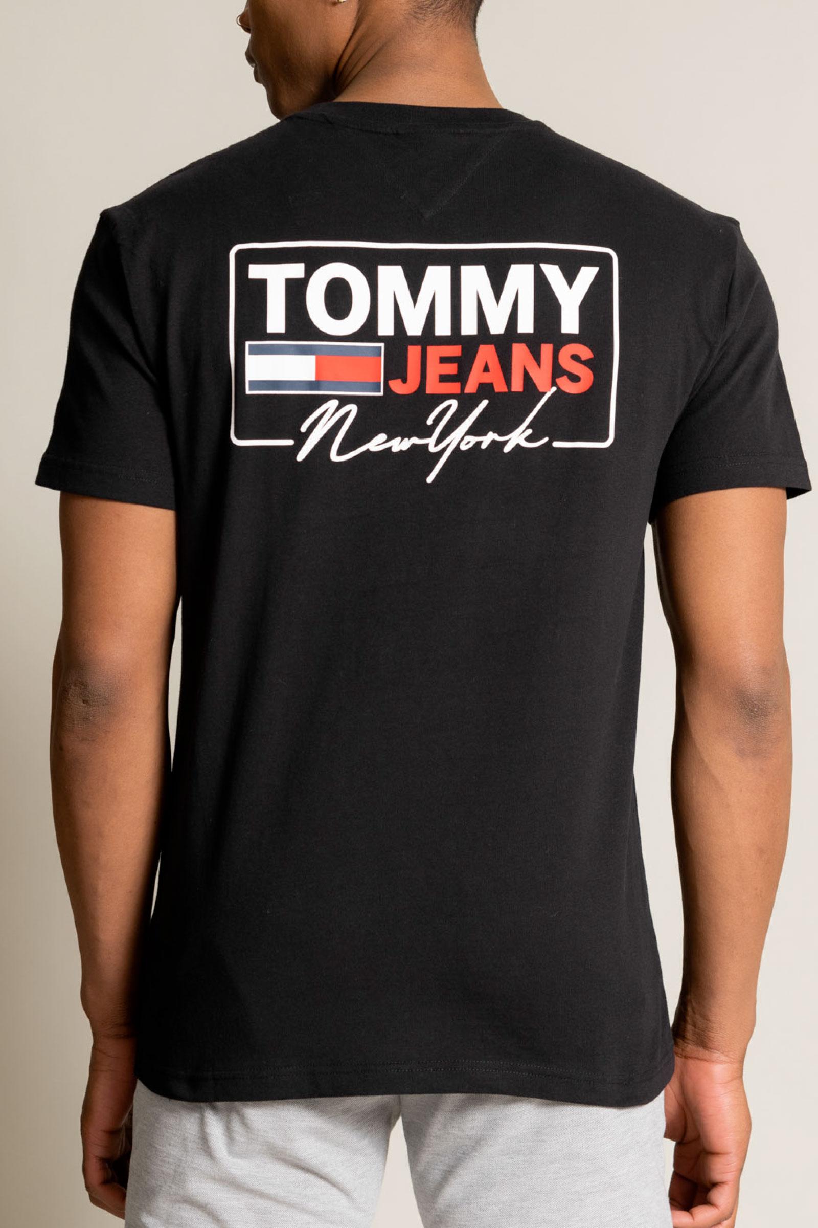 TOMMY JEANS T-Shirt Uomo TOMMY JEANS | T-Shirt | DM0DM10216BDS
