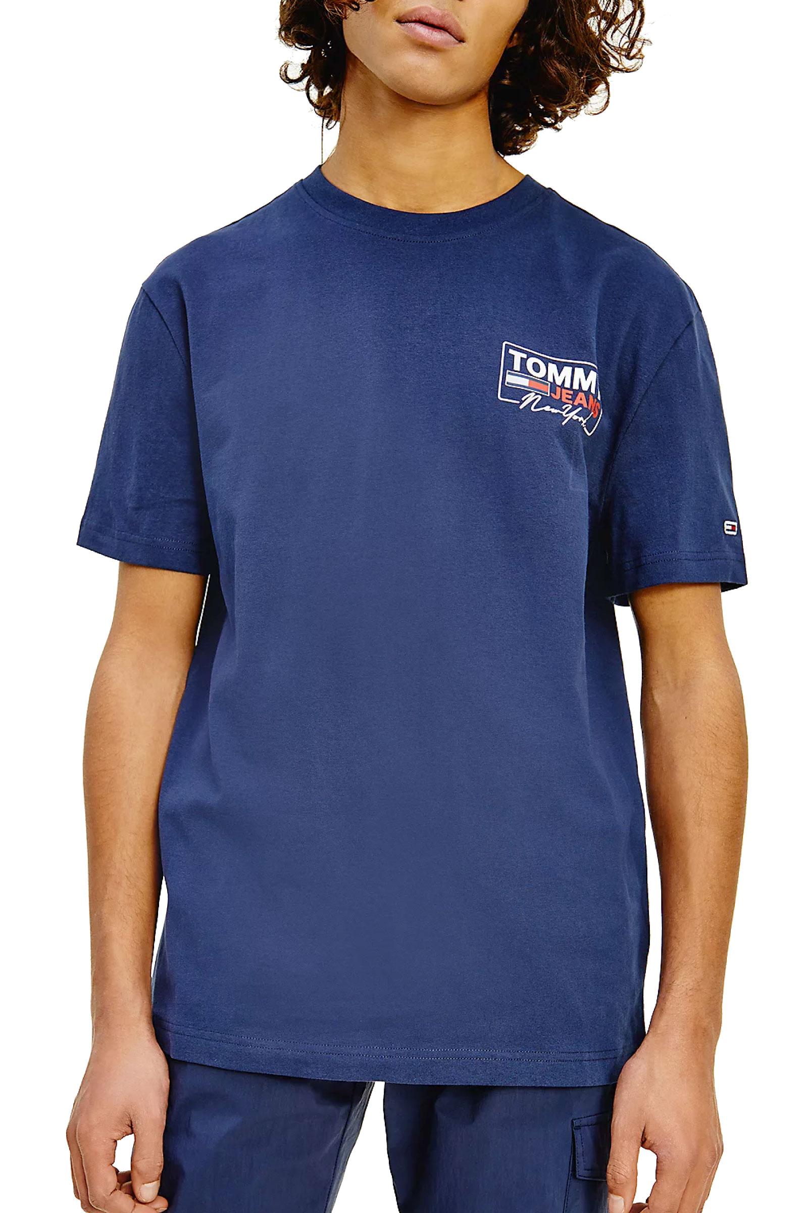 TOMMY JEANS T-Shirt Uomo TOMMY JEANS | T-Shirt | DM0DM10216C87