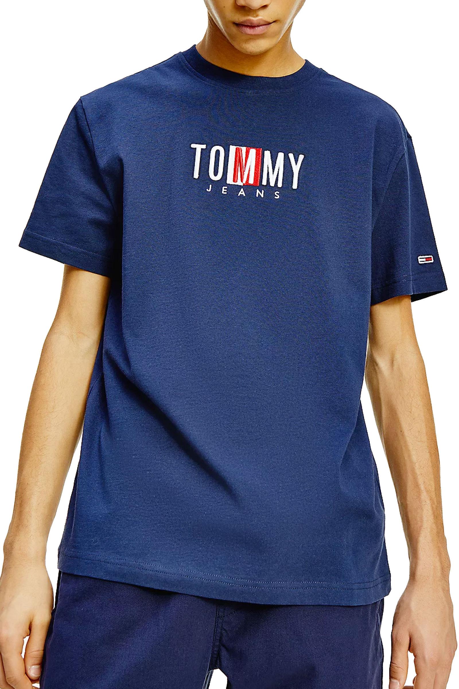 TOMMY JEANS T-Shirt Uomo TOMMY JEANS | T-Shirt | DM0DM10218C87