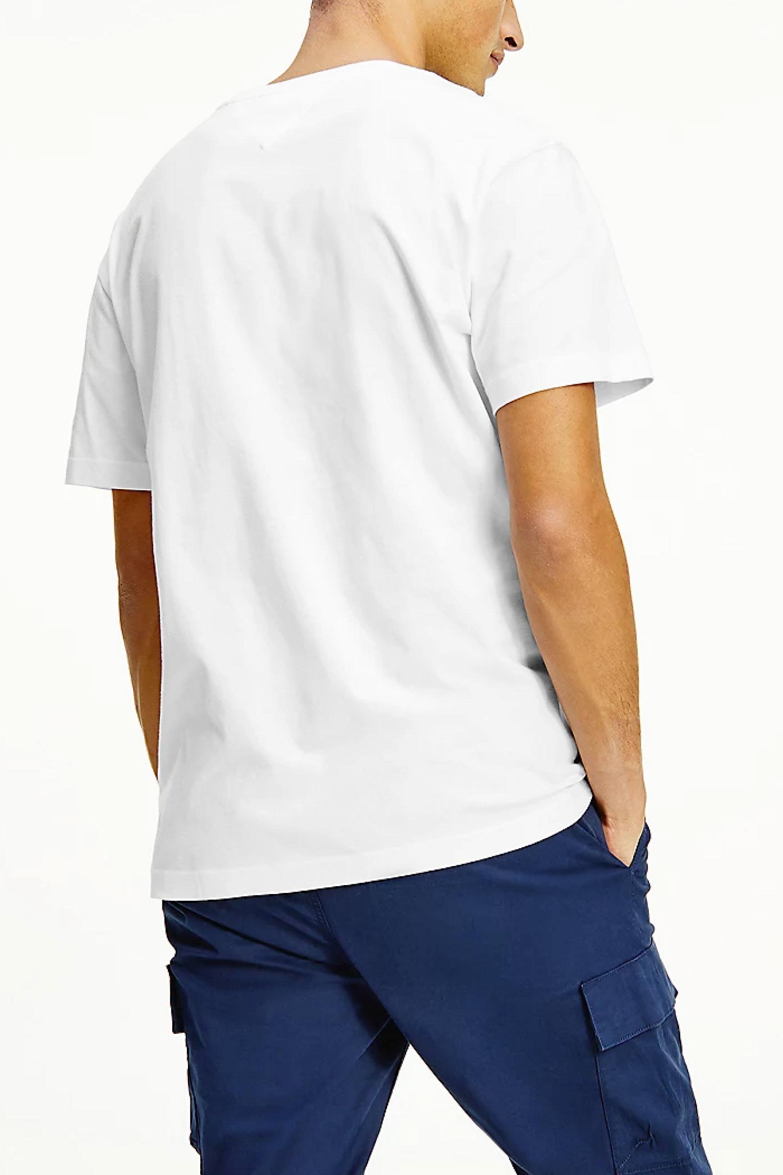 TOMMY JEANS T-Shirt Uomo TOMMY JEANS | T-Shirt | DM0DM10219YBR