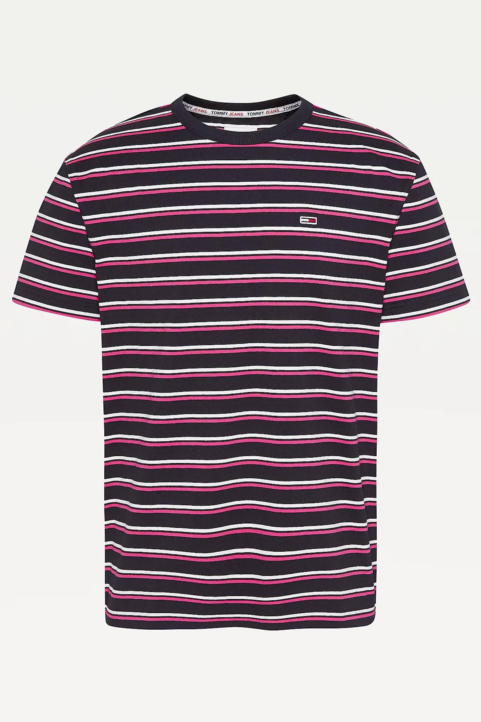 TOMMY JEANS Top Uomo TOMMY JEANS | T-Shirt | DM0DM10264T1K