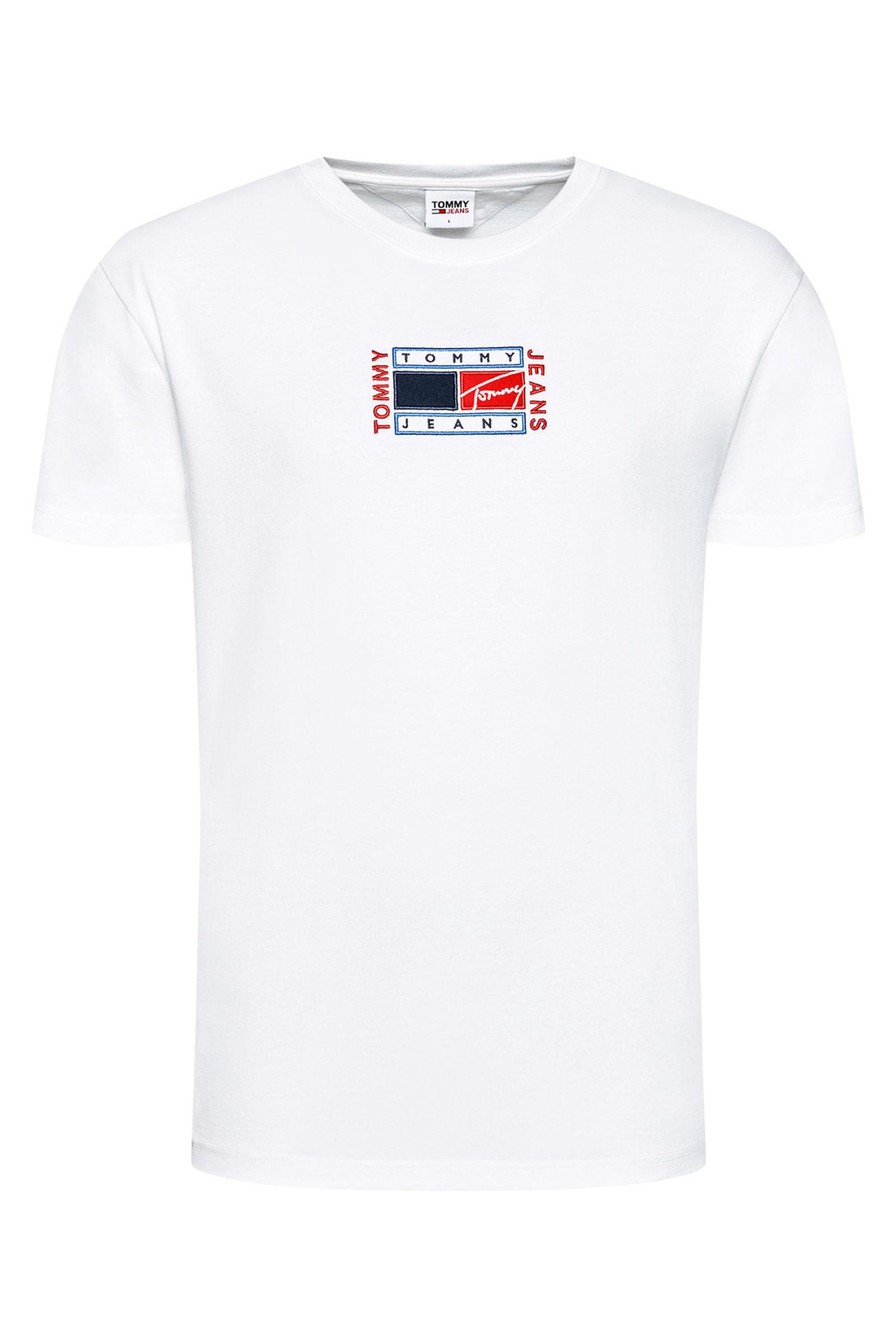 TOMMY JEANS T-Shirt Uomo TOMMY JEANS | T-Shirt | DM0DM10621YBR
