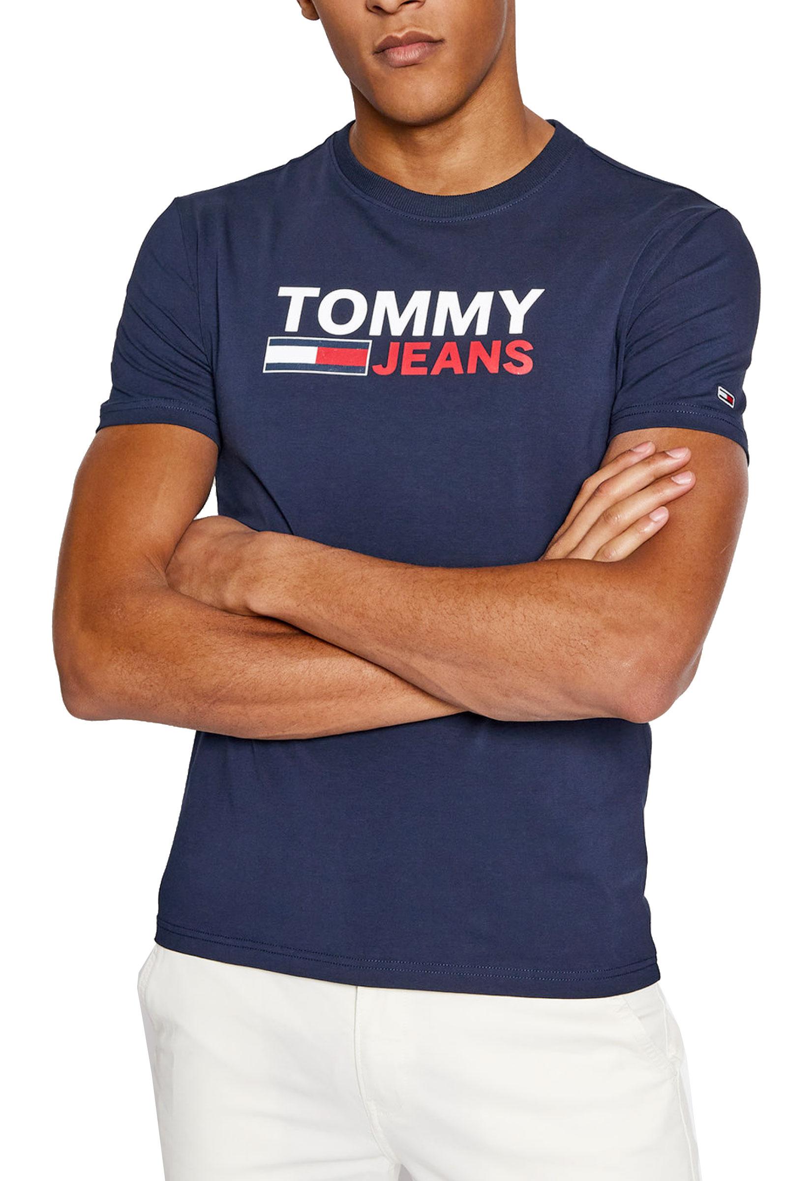 TOMMY JEANS T-Shirt Uomo TOMMY JEANS | T-Shirt | DM0DM10626C87