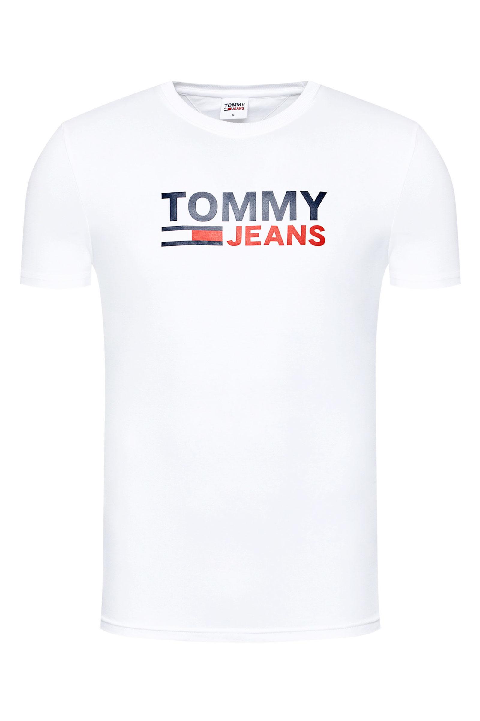 TOMMY JEANS T-Shirt Uomo TOMMY JEANS   T-Shirt   DM0DM10626YBR