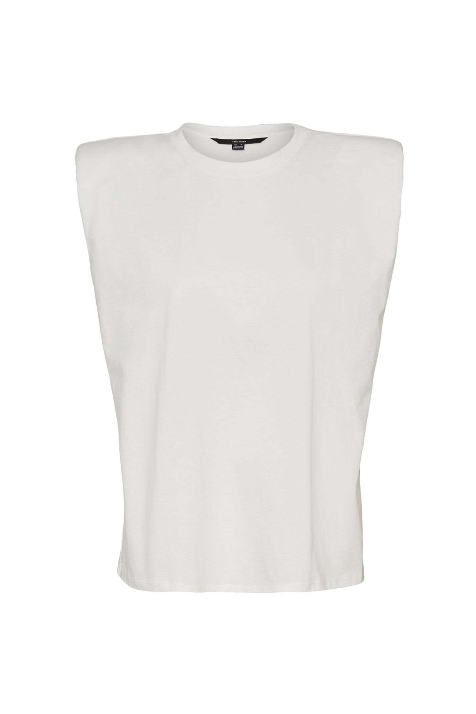 VERO MODA T-SHIRT Donna Modello NETE VERO MODA | T-Shirt | 10240876Snow White