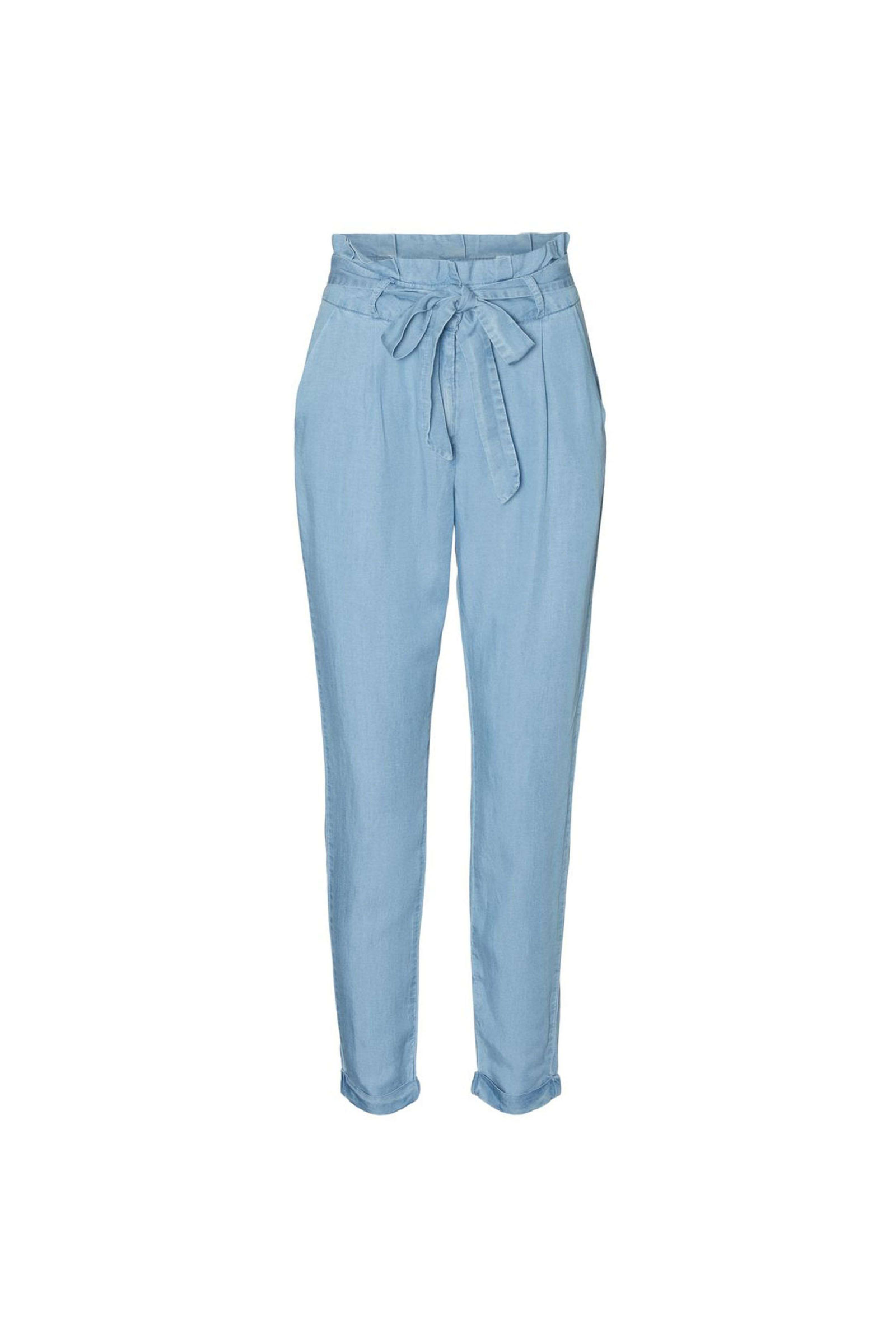 VERO MODA Women's Trousers VERO MODA | Trousers | 10242257Light Blue Denim