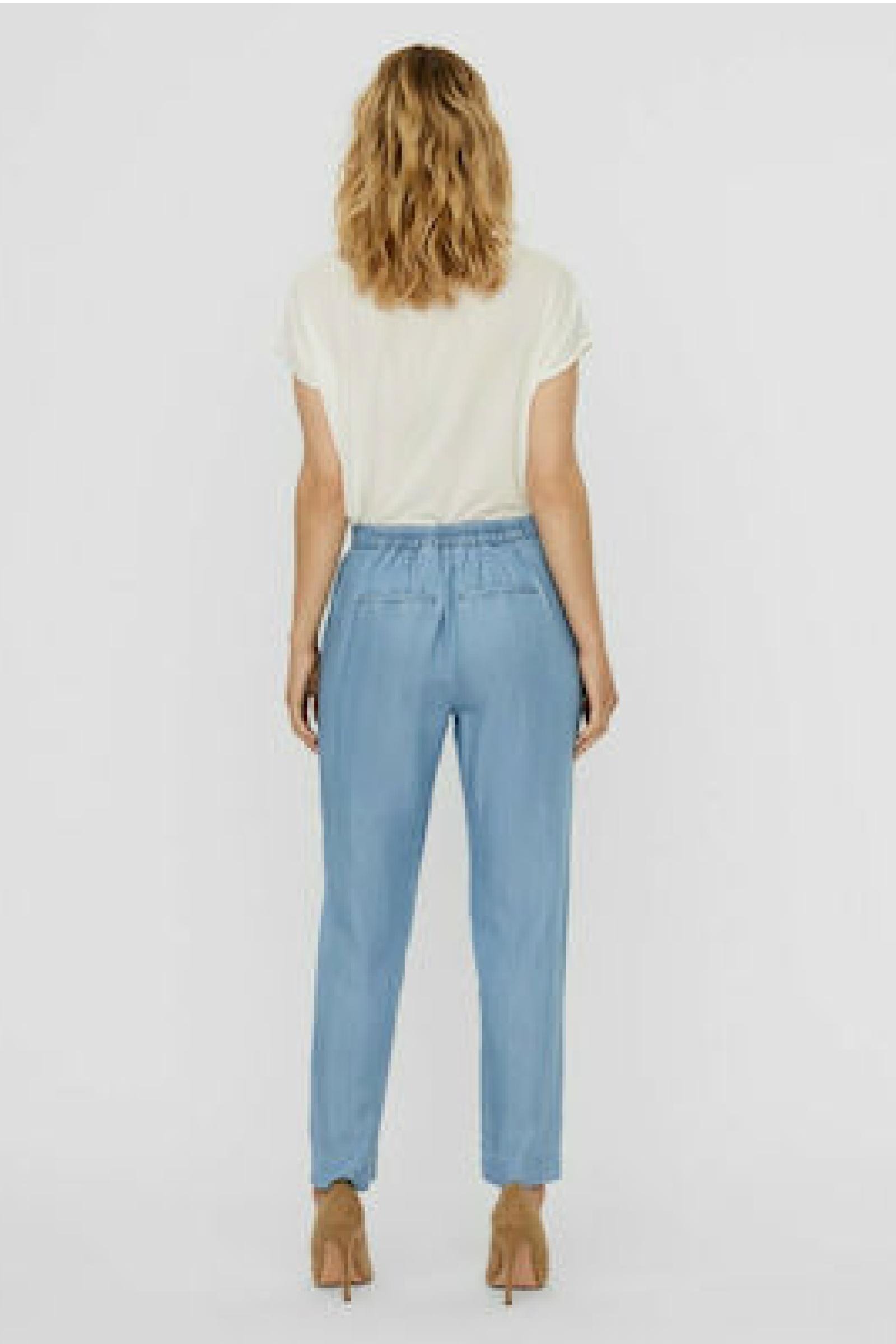 VERO MODA Women's Trousers VERO MODA | Trousers | 10242263Light Blue Denim