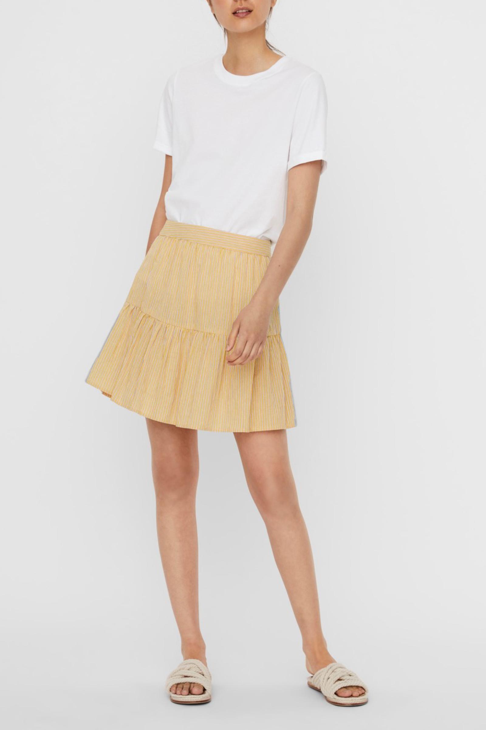 VERO MODA Skirt Woman VERO MODA | Skirt | 10243705Stripes-WITH ROSEATE SPOONBILL