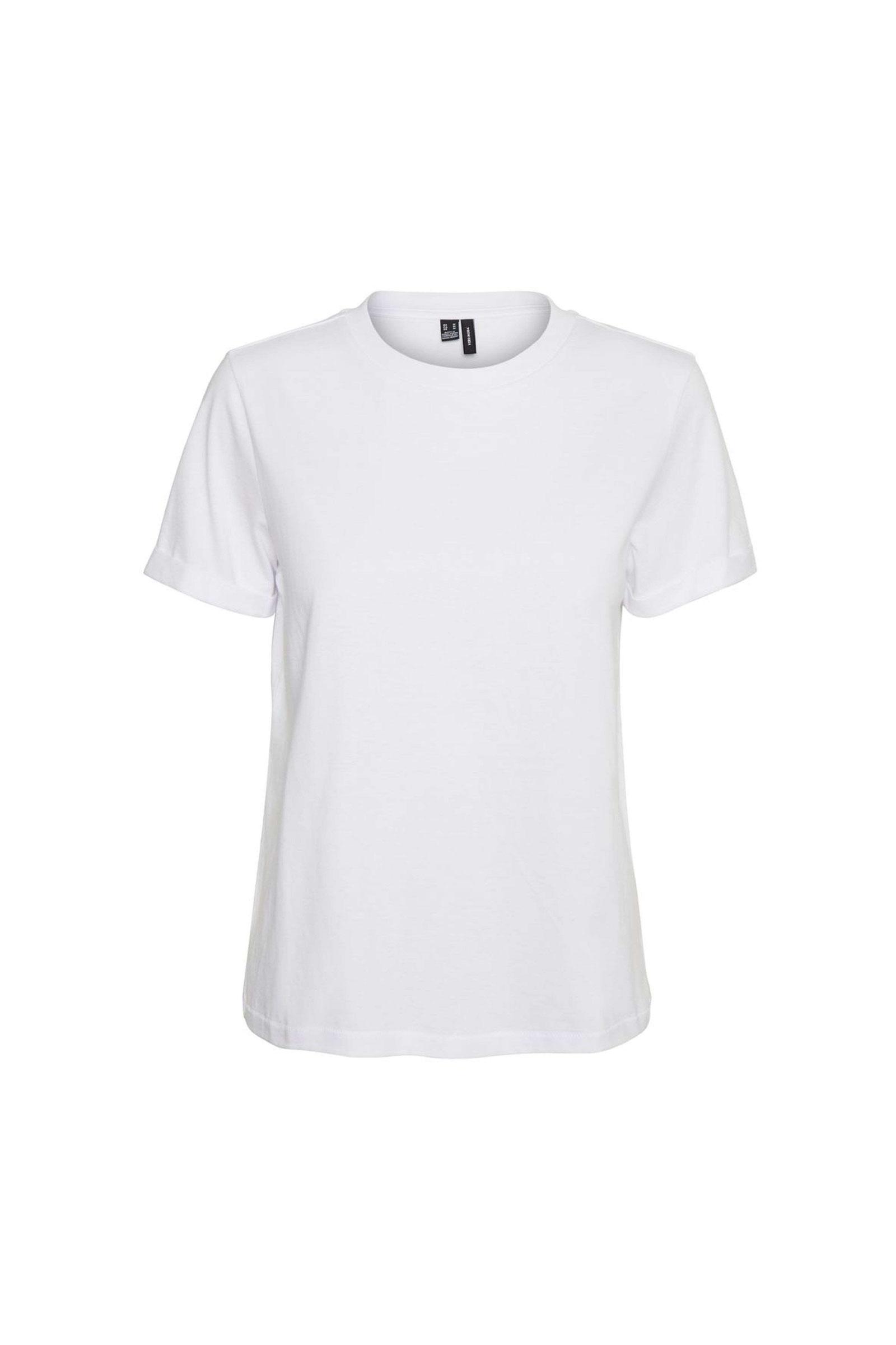 VERO MODA Women's T-Shirt VERO MODA | T-Shirt | 10243889Bright White