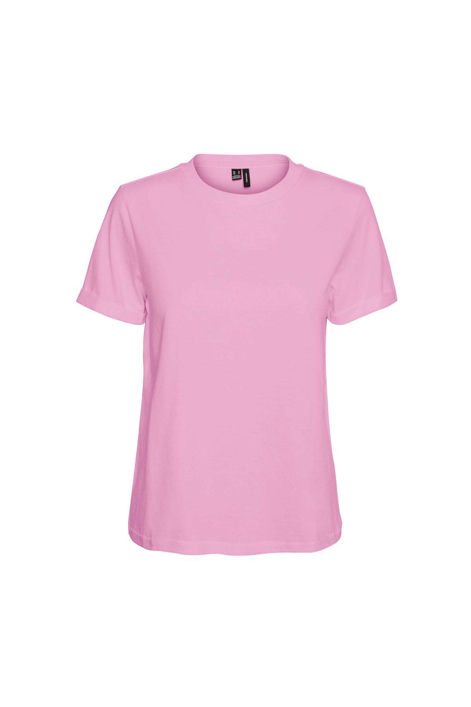 VERO MODA T-SHIRT Donna Modello PAULA VERO MODA   T-Shirt   10243889Pastel Lavender