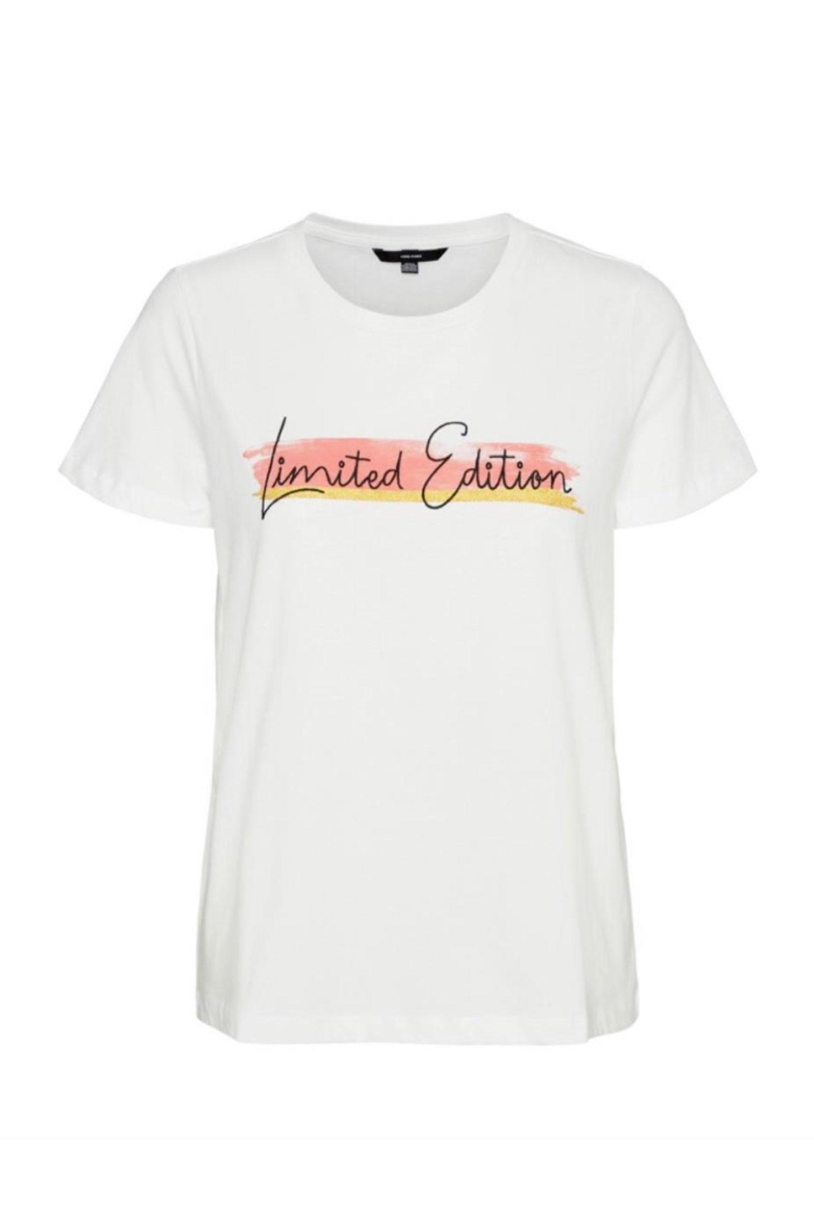 VERO MODA Women's T-Shirt VERO MODA | T-Shirt | 10243908Print-LIMITED EDITION