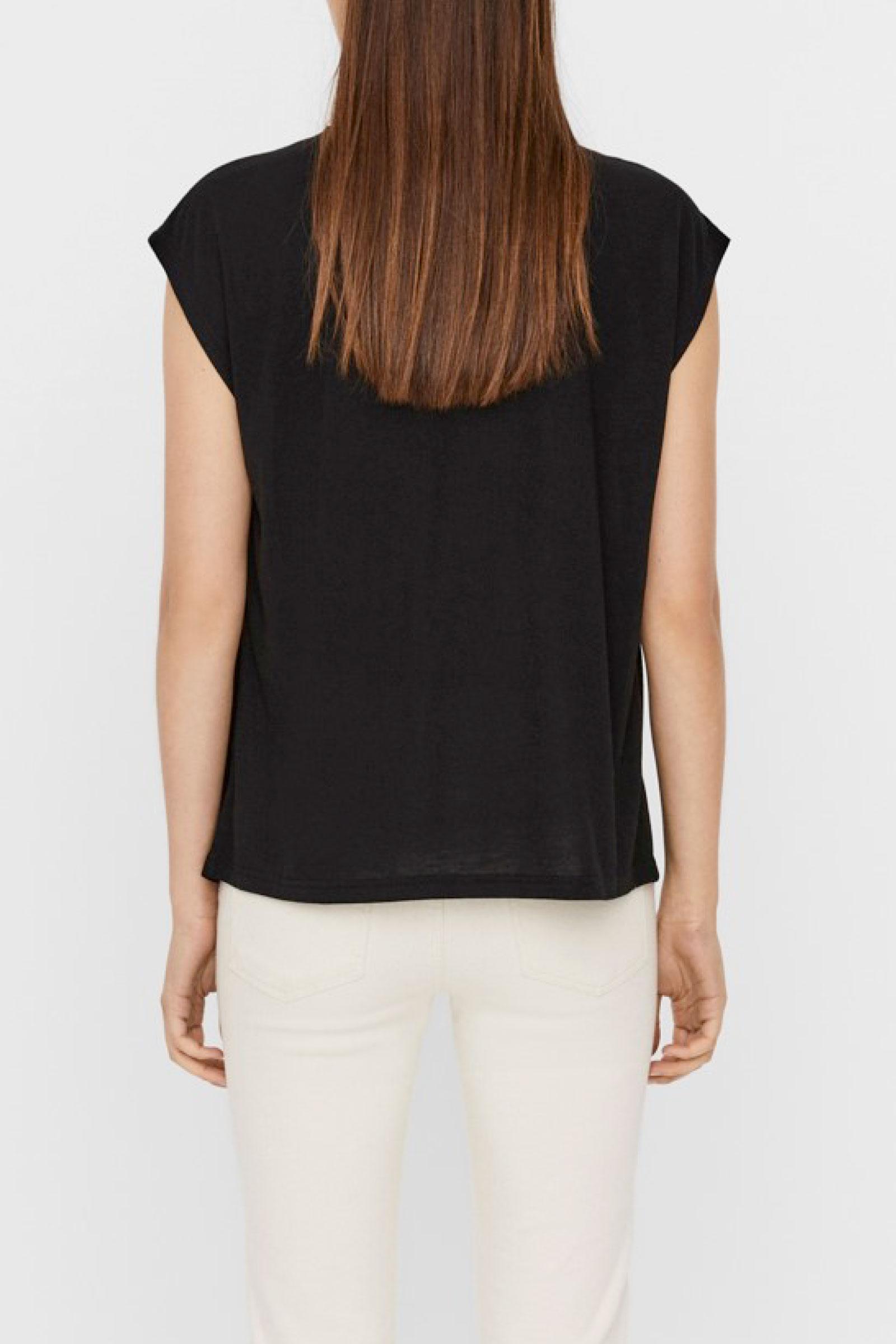 VERO MODA T-SHIRT Donna Modello CARRIE VERO MODA | T-Shirt | 10244100Black