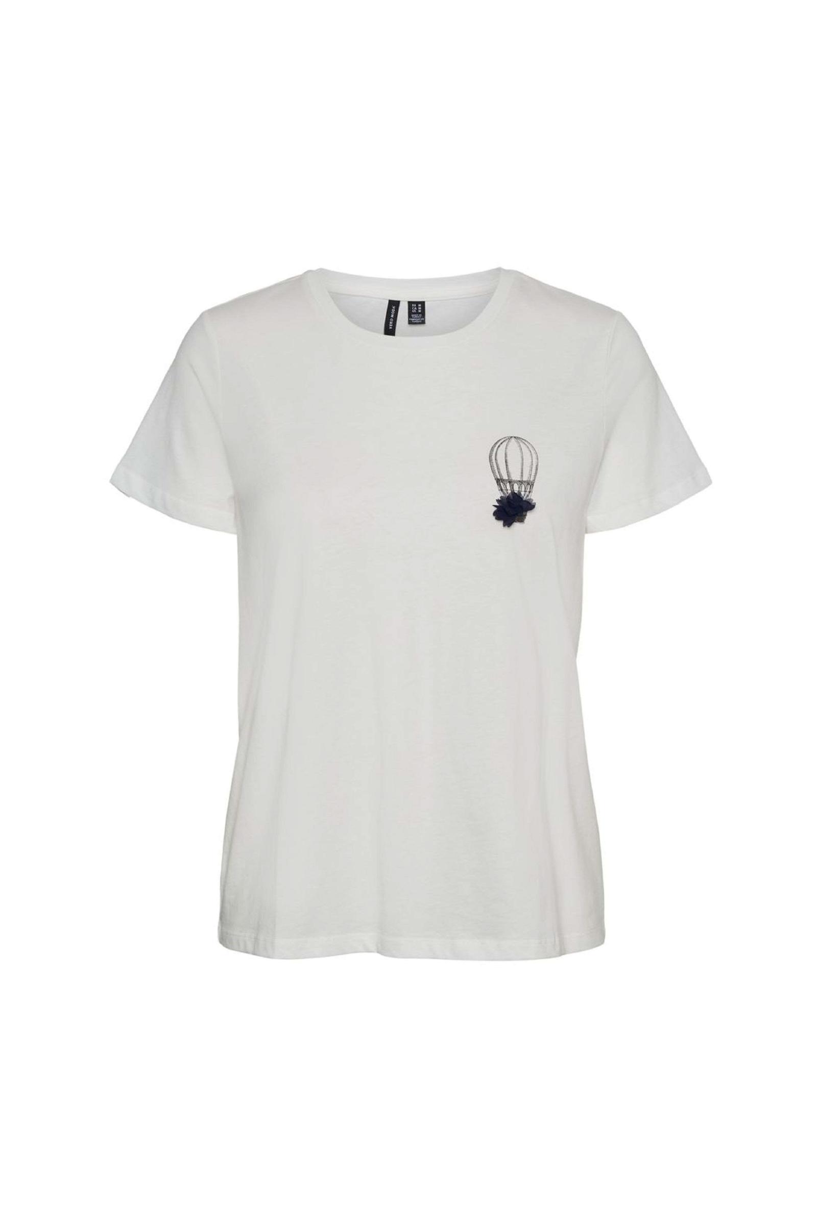 VERO MODA T-SHIRT Donna Modello DONNAFRANCIS VERO MODA   T-Shirt   10244391Print-AIRBALOON